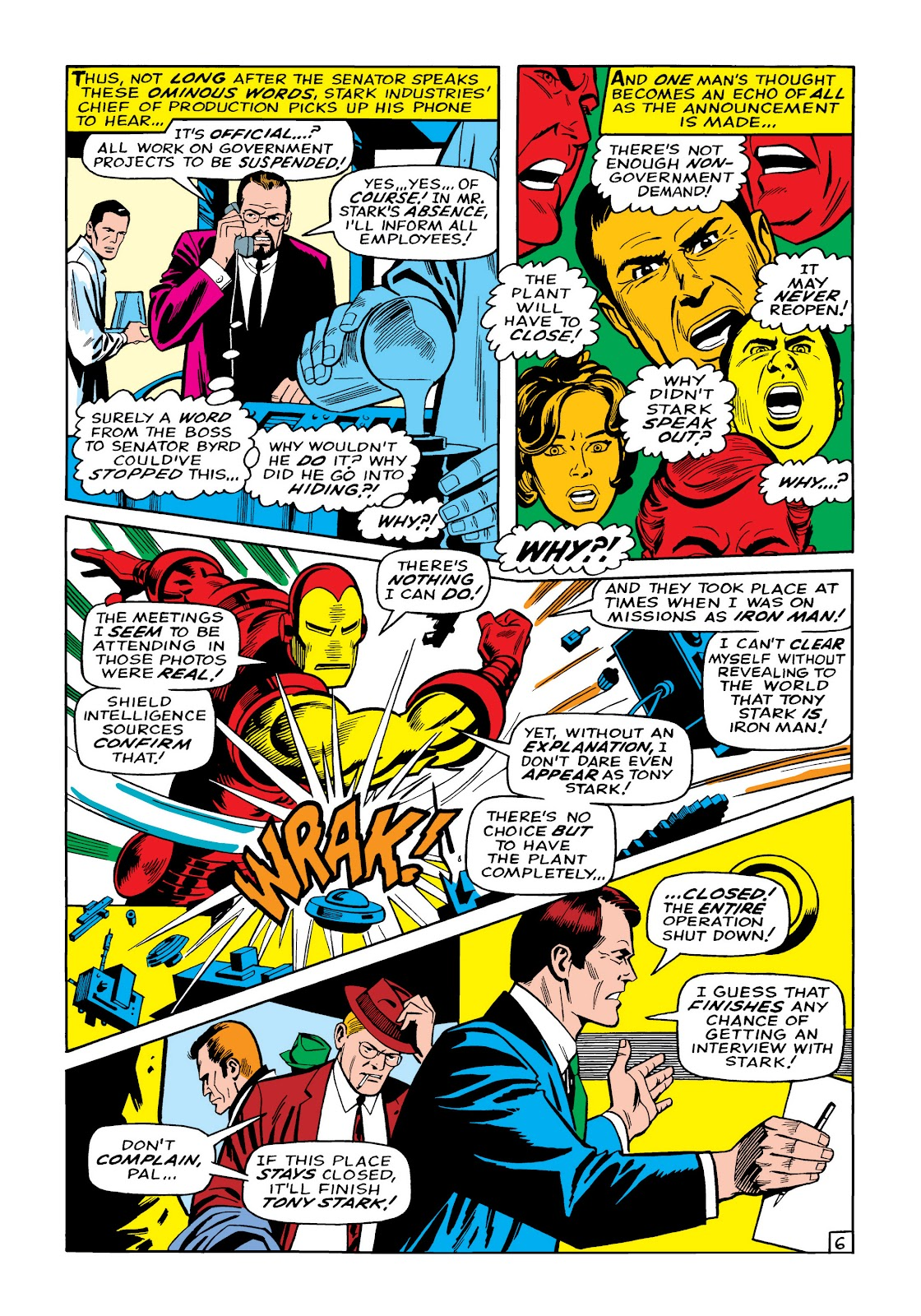 Read online Marvel Masterworks: The Invincible Iron Man comic -  Issue # TPB 5 (Part 2) - 81