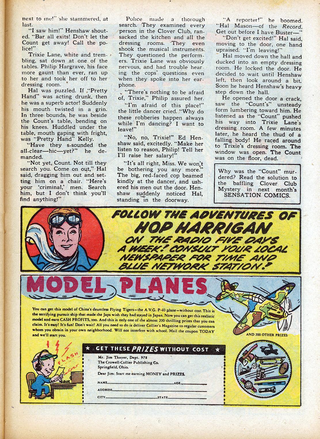Read online Sensation (Mystery) Comics comic -  Issue #18 - 41