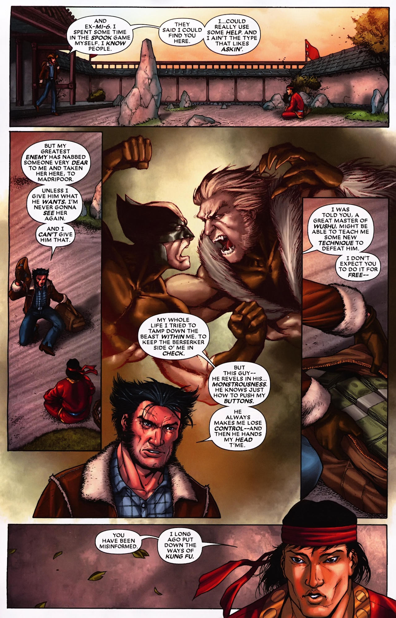 Read online Wolverine: First Class comic -  Issue #9 - 3