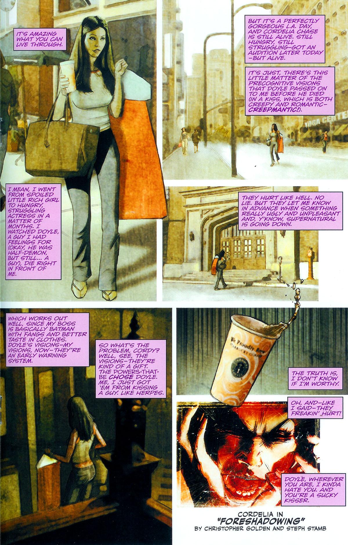 Read online Angel: Masks comic -  Issue # Full - 27