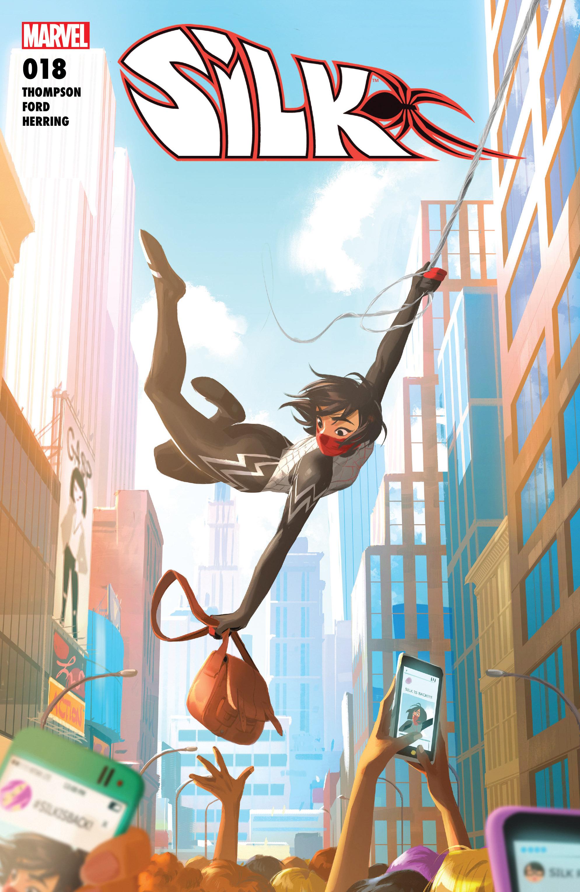 Read online Silk (2016) comic -  Issue #18 - 1