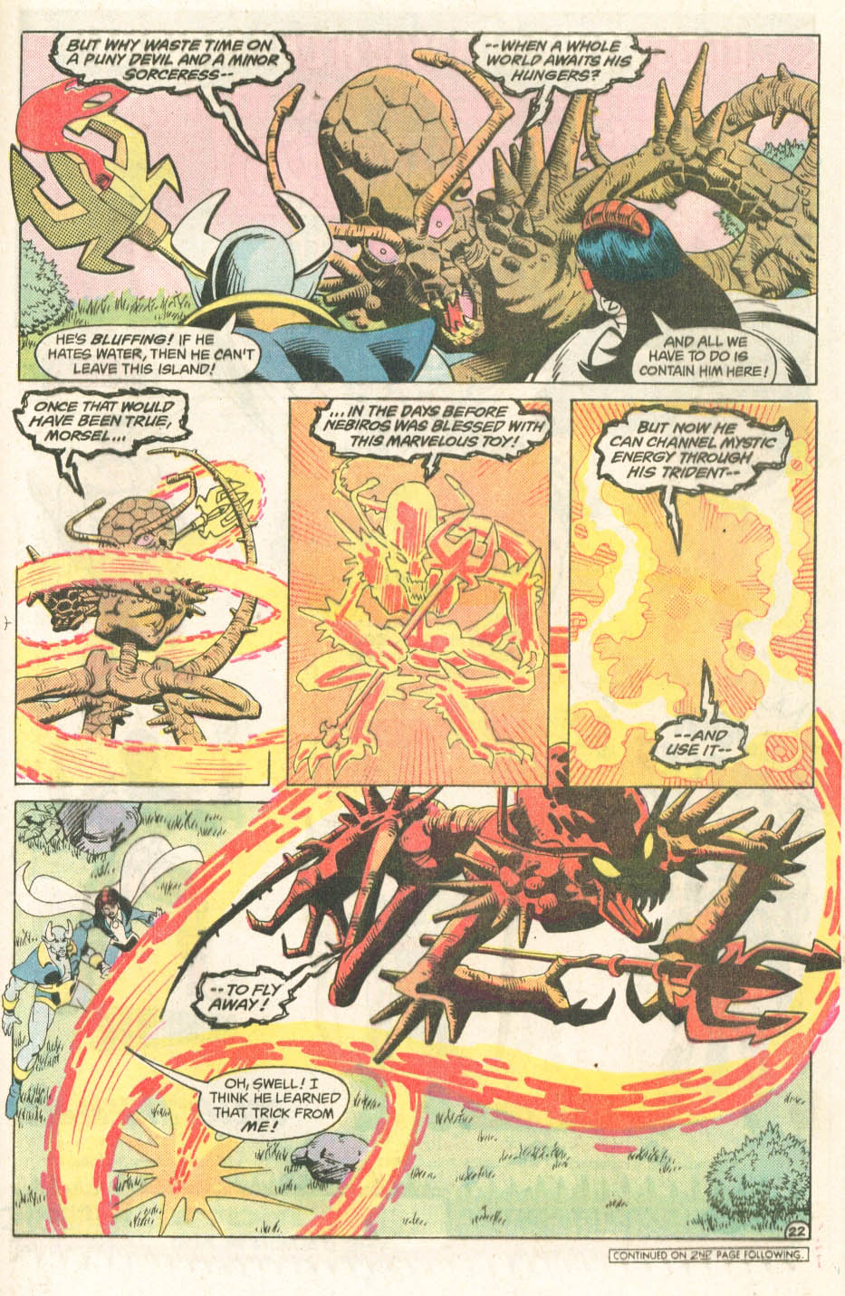 Blue Devil #4 - Read Blue Devil Issue #4 Page 24
