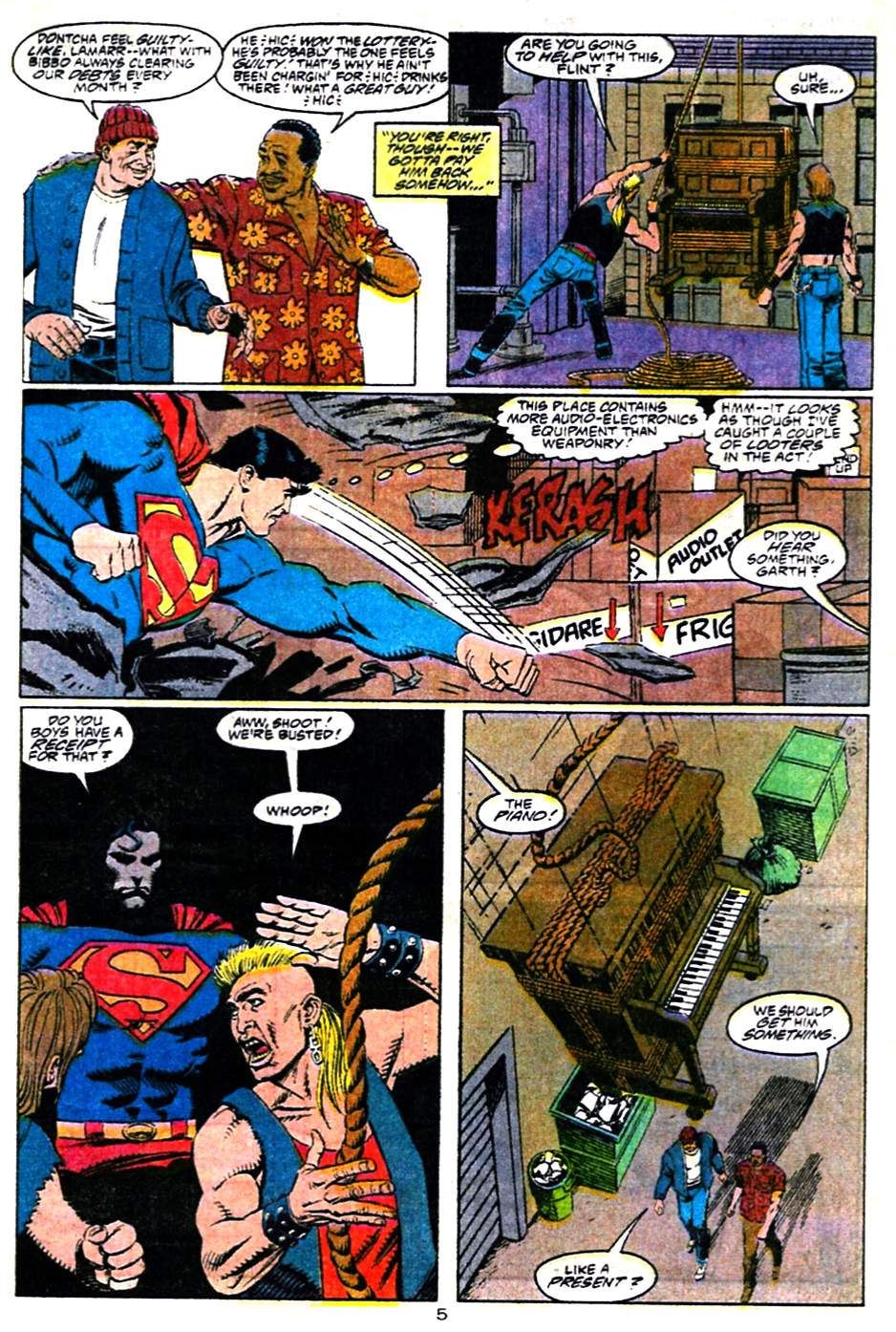 Adventures of Superman (1987) 483 Page 5