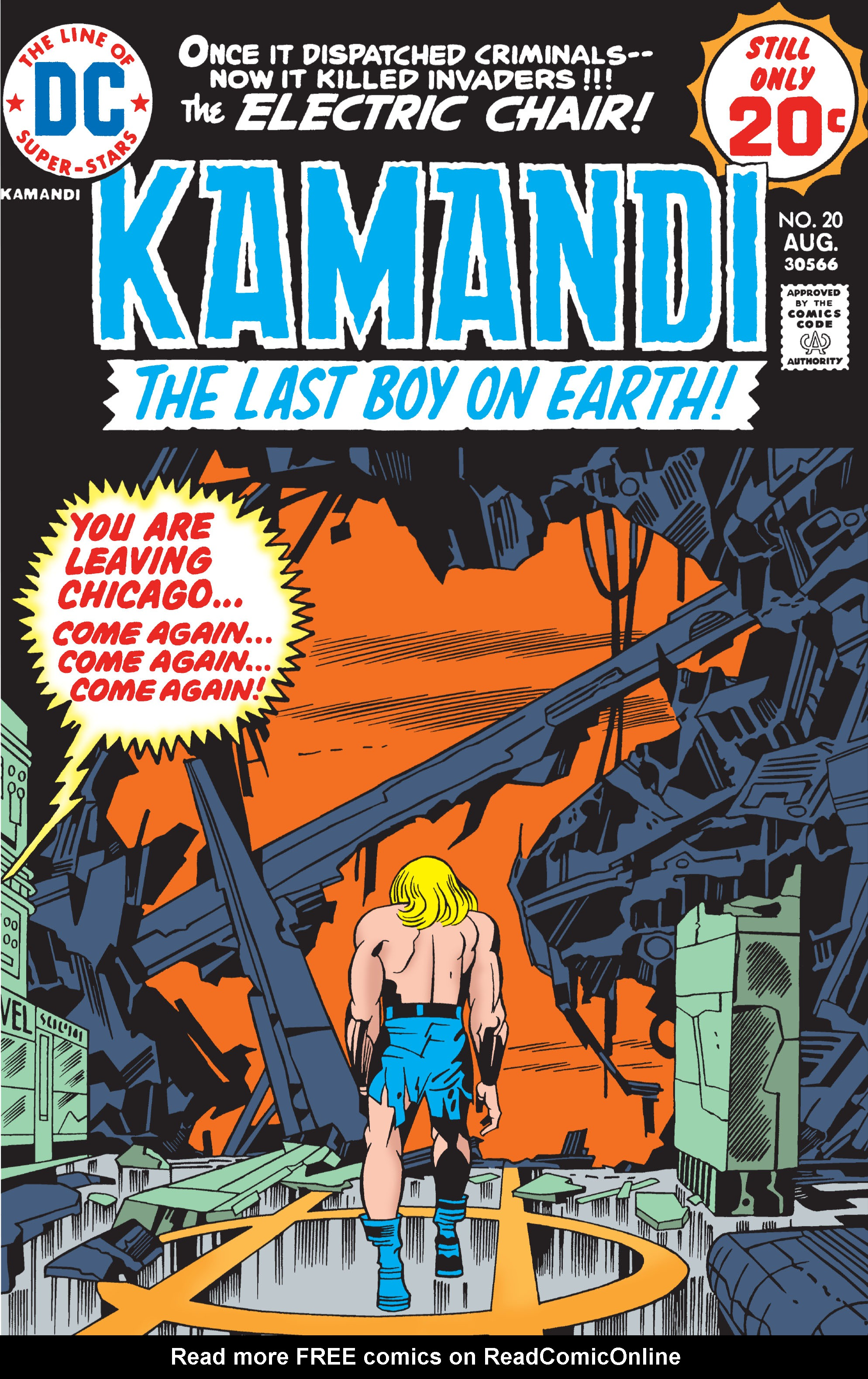 Kamandi, The Last Boy On Earth 20 Page 1