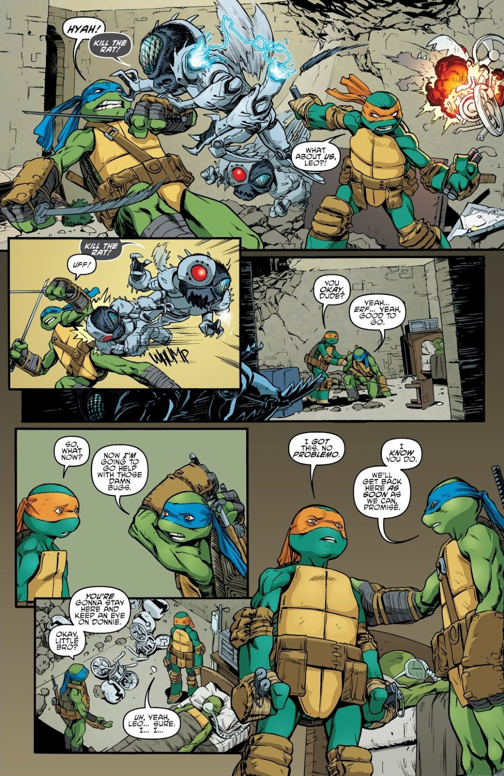 Read online Teenage Mutant Ninja Turtles: The IDW Collection comic -  Issue # TPB 6 (Part 2) - 96