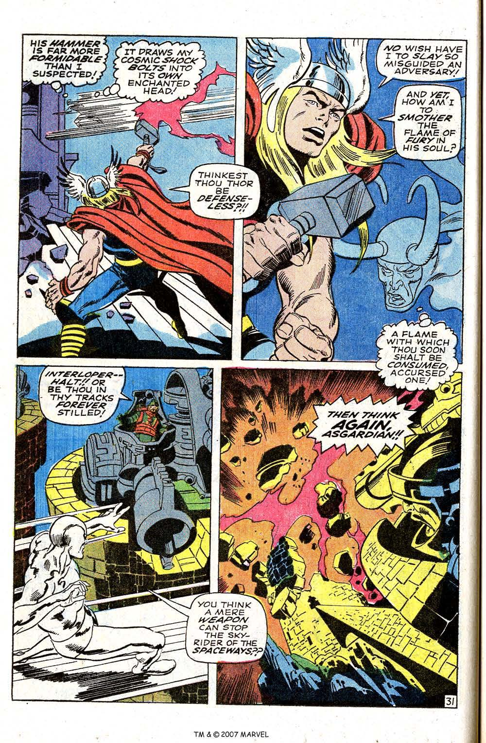 Read online Silver Surfer (1968) comic -  Issue #4 - 38