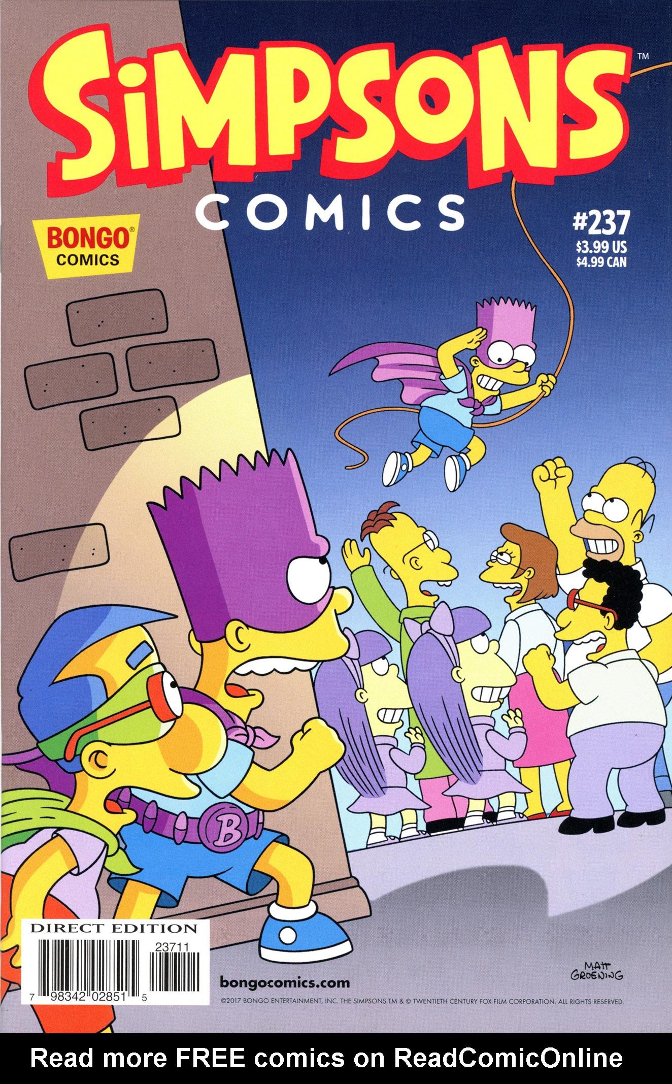 Simpsons Comics 237 Page 1