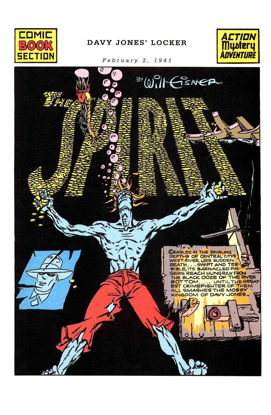 Read online Will Eisner's The Spirit Archives comic -  Issue # TPB 2 (Part 1) - 33