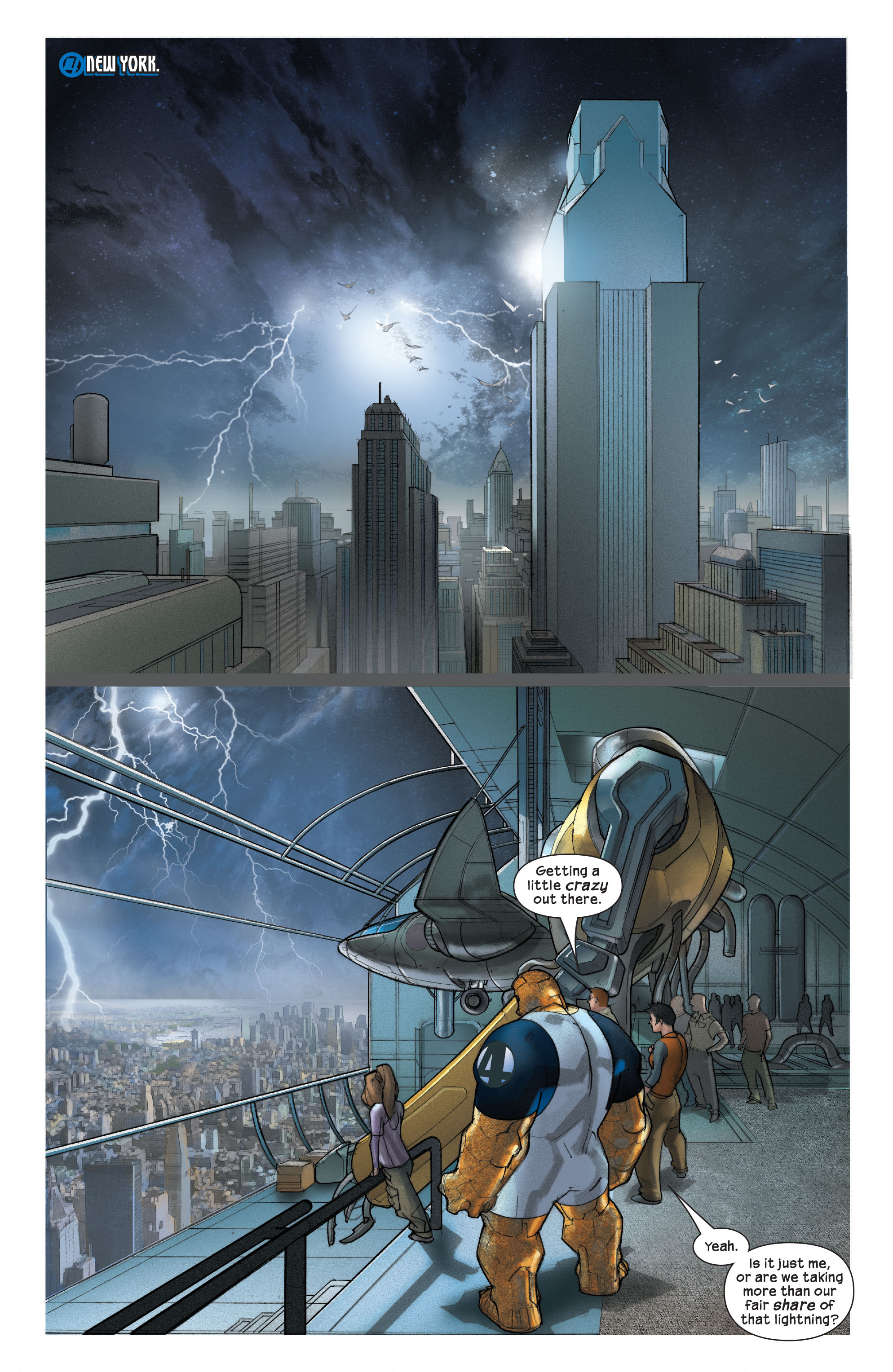 Read online Ultimate Fantastic Four (2004) comic -  Issue #42 - 20