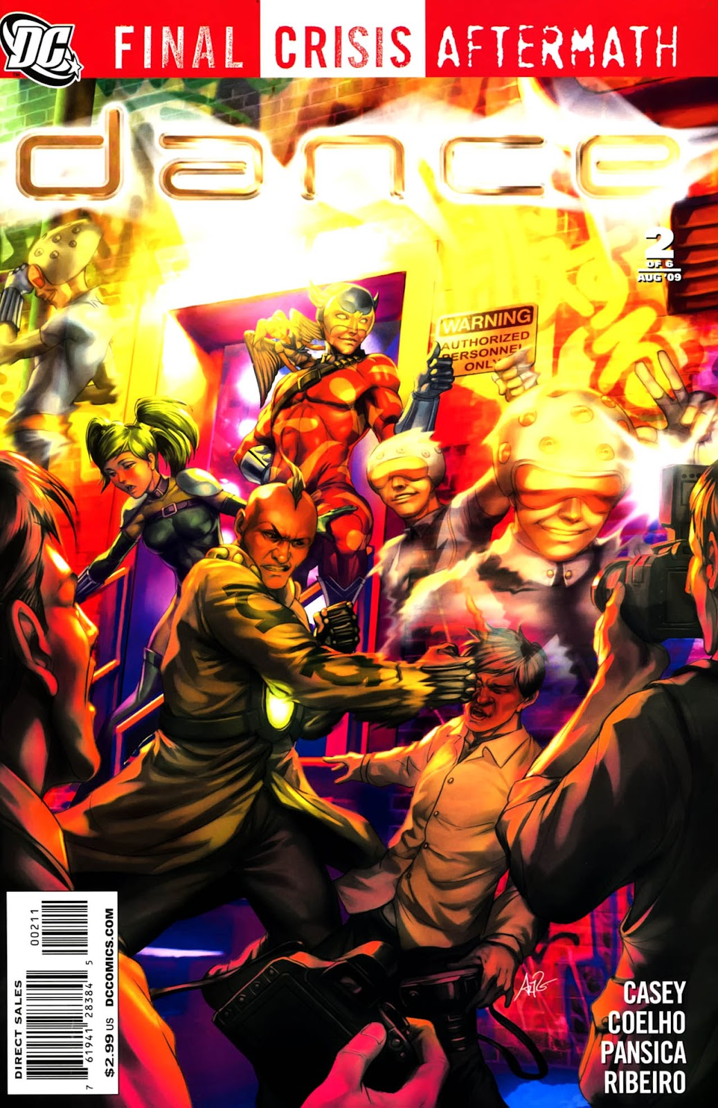 Final Crisis Aftermath: Dance issue 2 - Page 1