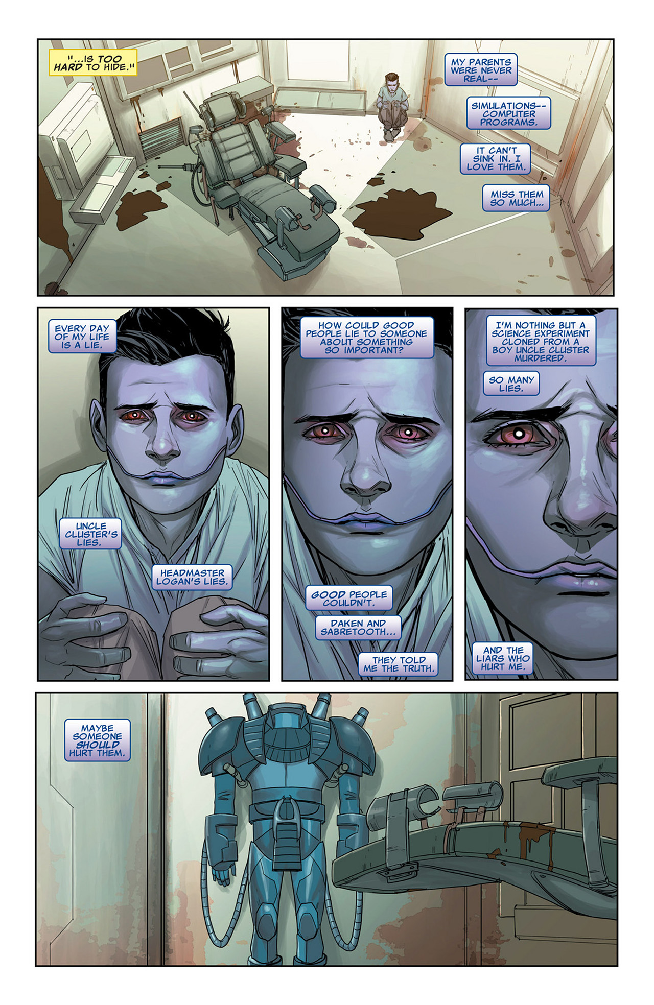 Read online Uncanny X-Force (2010) comic -  Issue #31 - 10