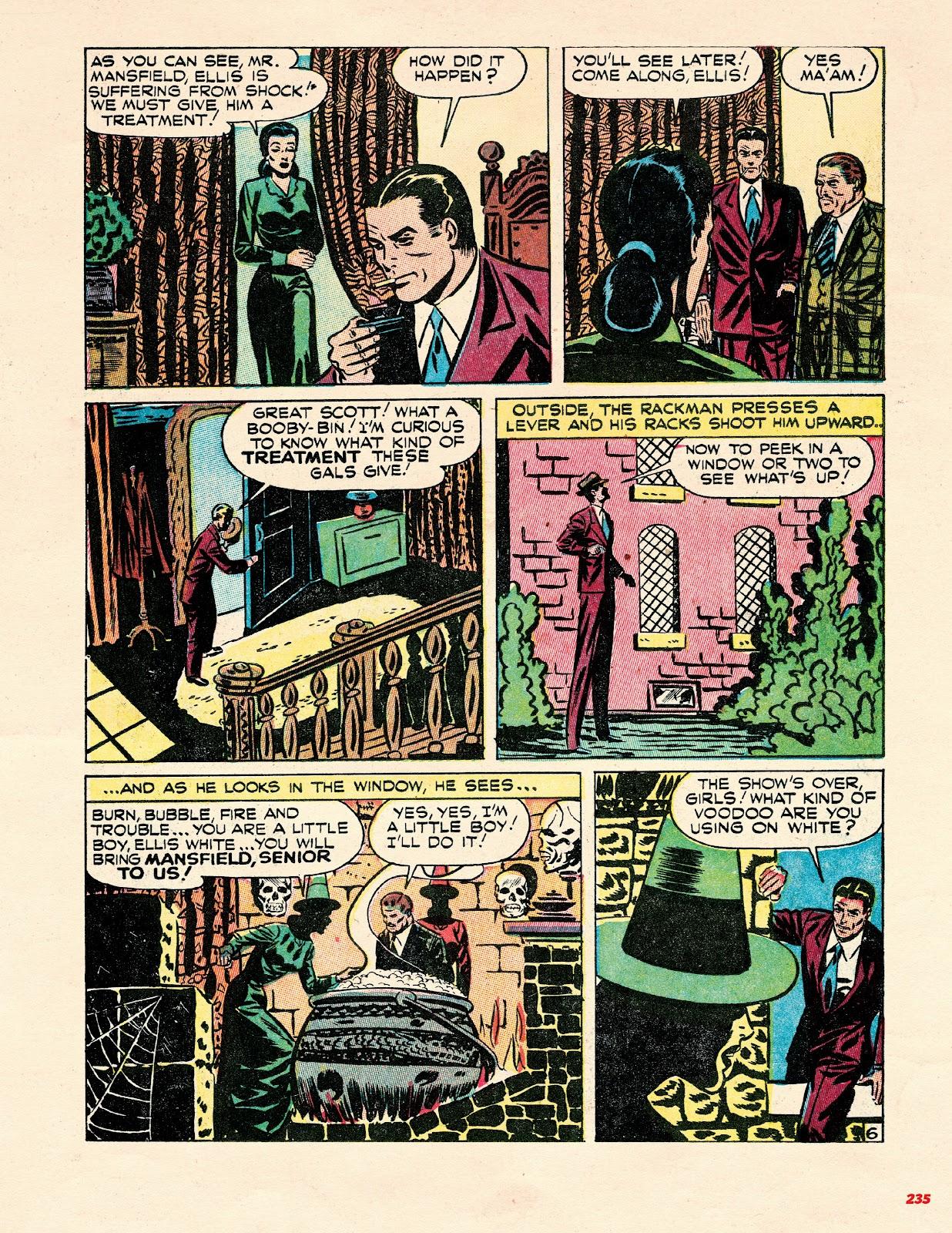 Read online Super Weird Heroes comic -  Issue # TPB 2 (Part 3) - 35