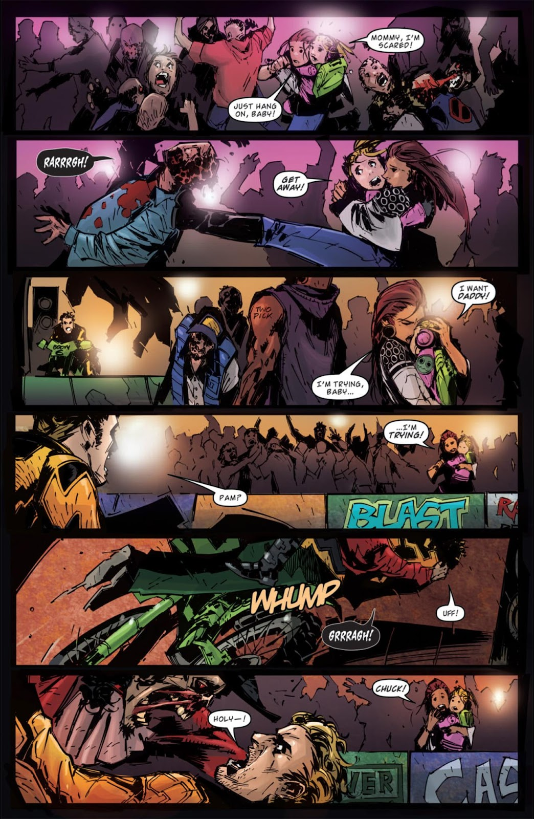 Read online Dead Rising: Road to Fortune comic -  Issue #3 - 17