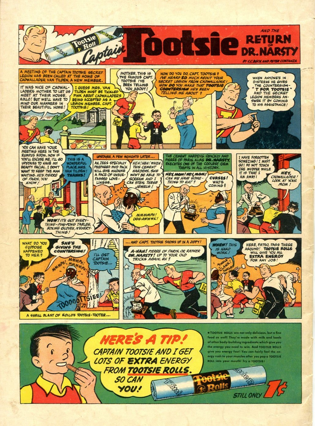 Read online Famous Funnies comic -  Issue #134 - 36