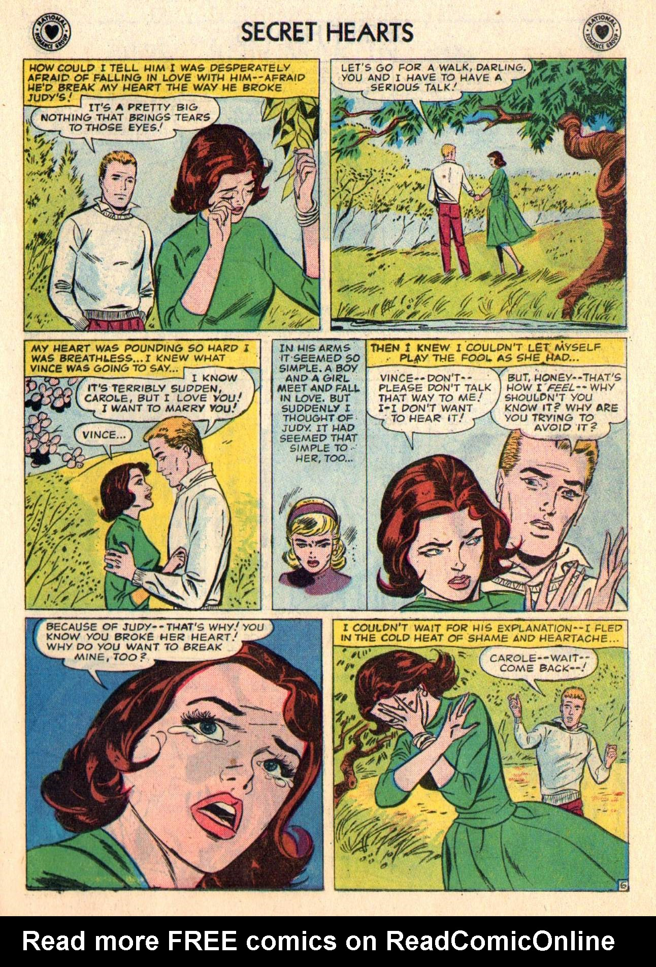 Read online Secret Hearts comic -  Issue #48 - 23