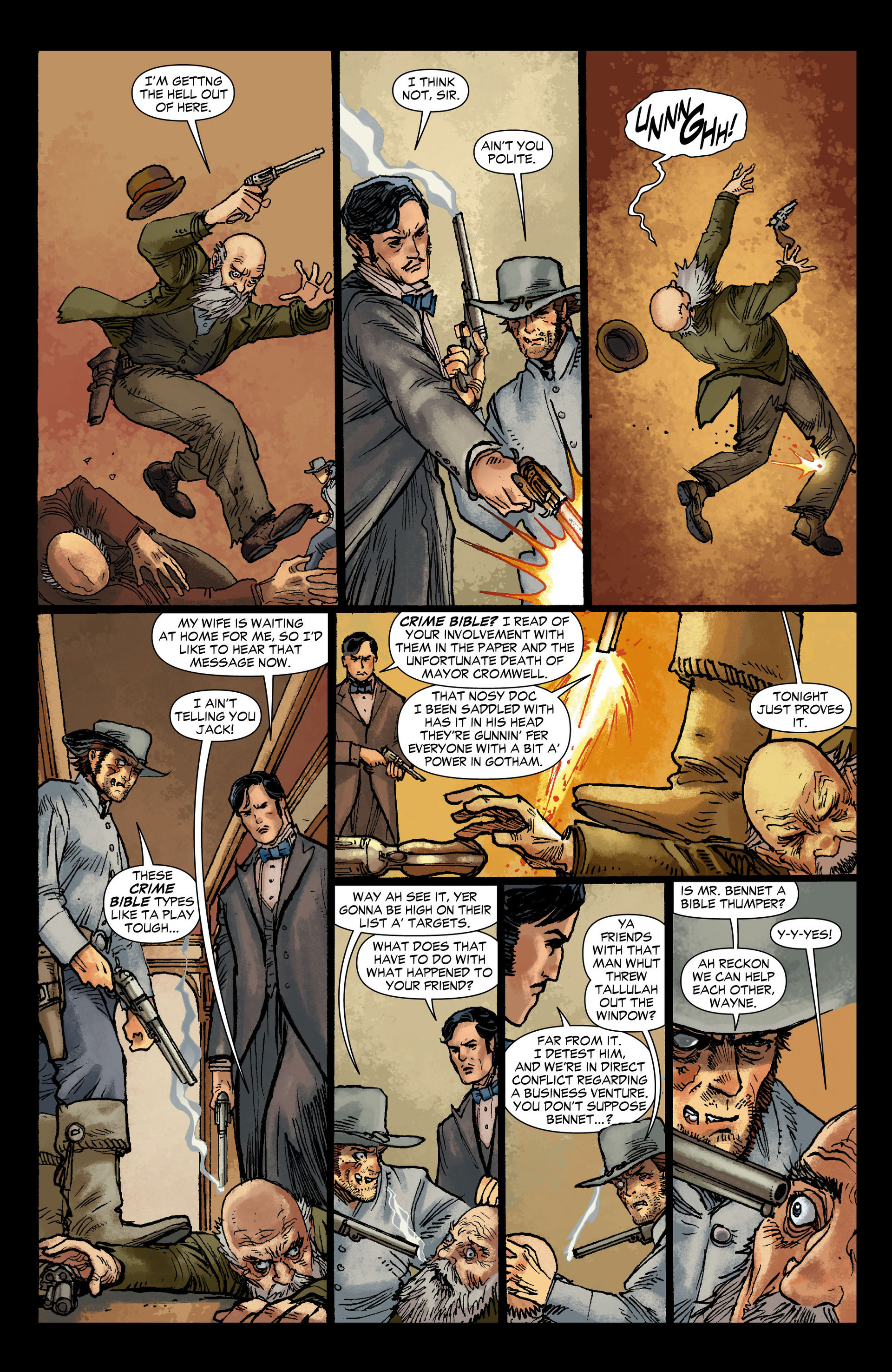 Read online All-Star Western (2011) comic -  Issue #12 - 11