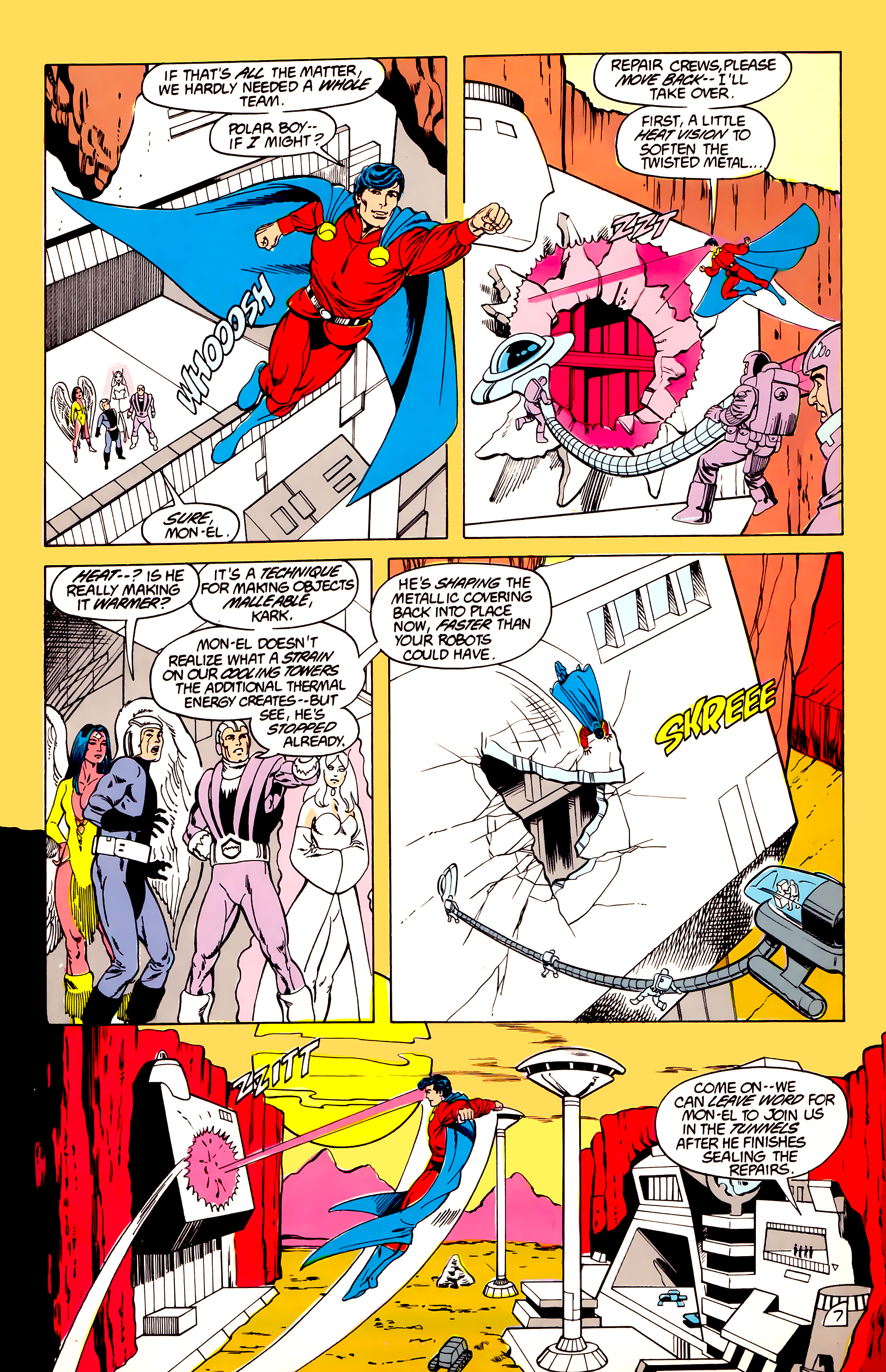Legion of Super-Heroes (1984) 40 Page 7