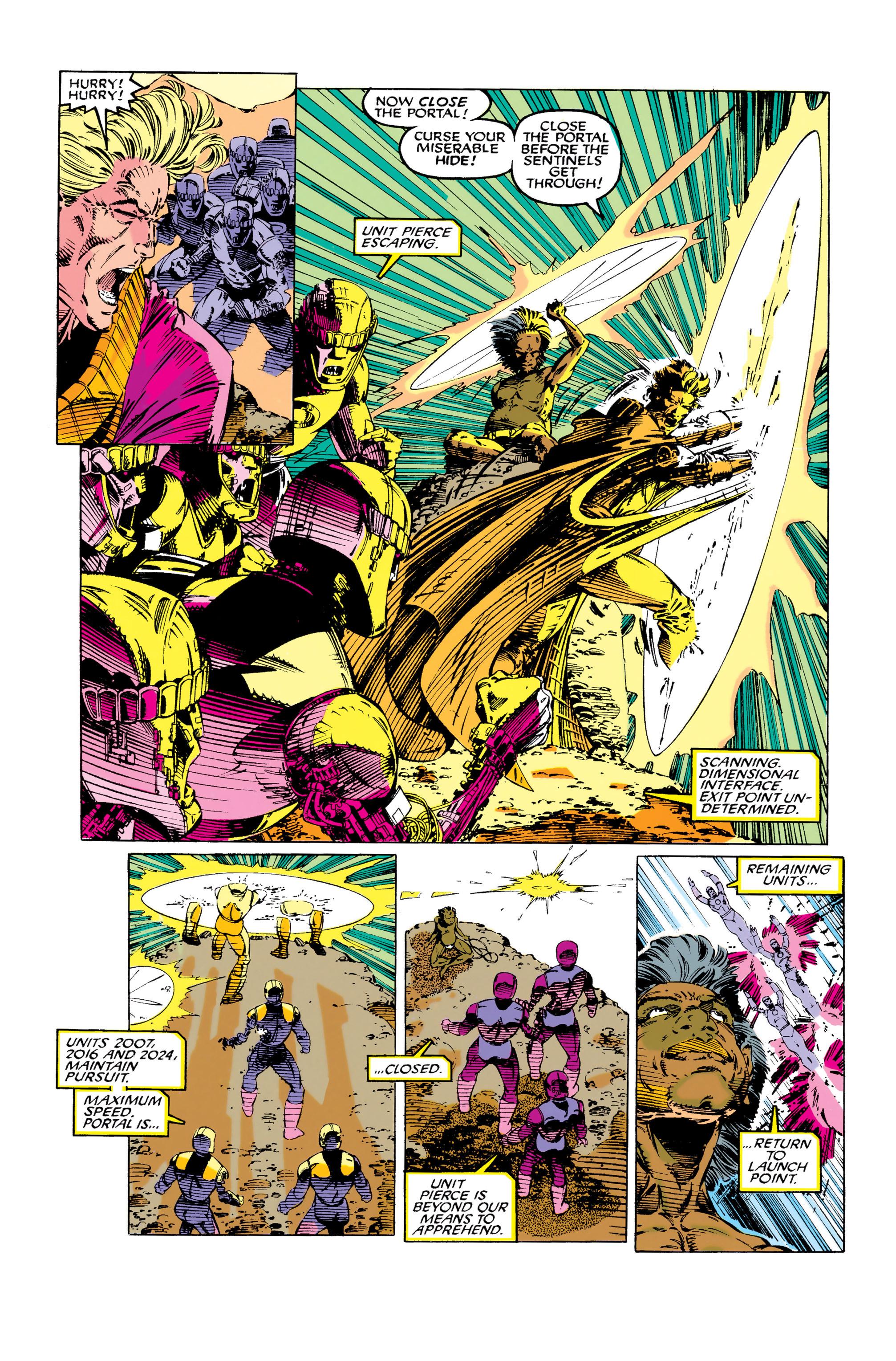 Read online Uncanny X-Men (1963) comic -  Issue #281 - 15