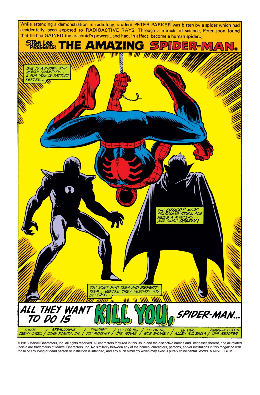 The Amazing Spider-Man (1963) 213 Page 1