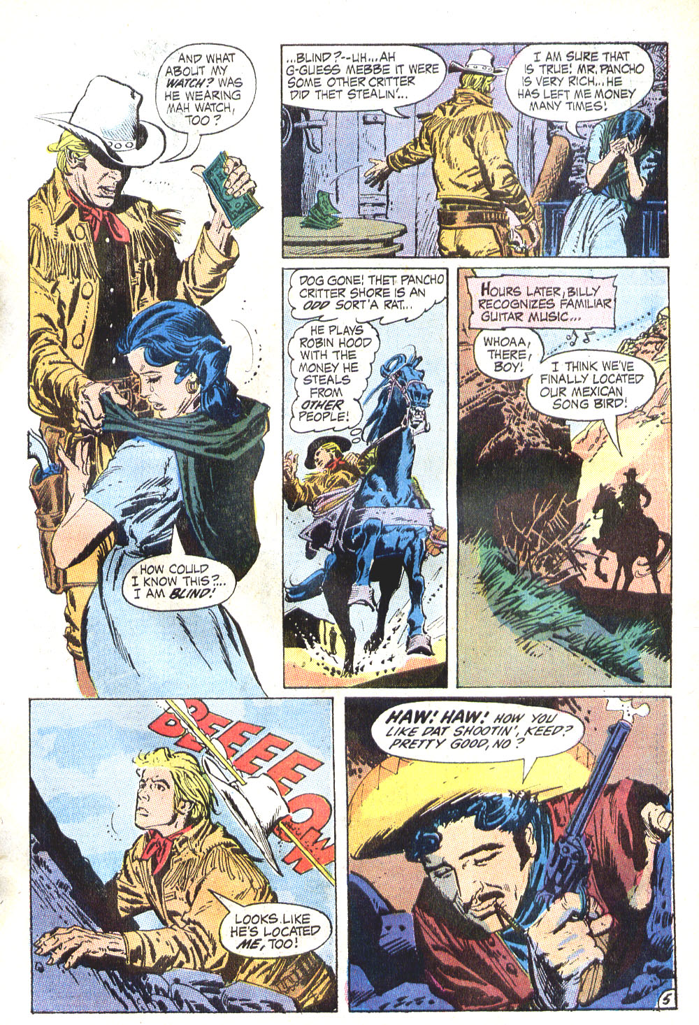 Read online All-Star Western (1970) comic -  Issue #6 - 7