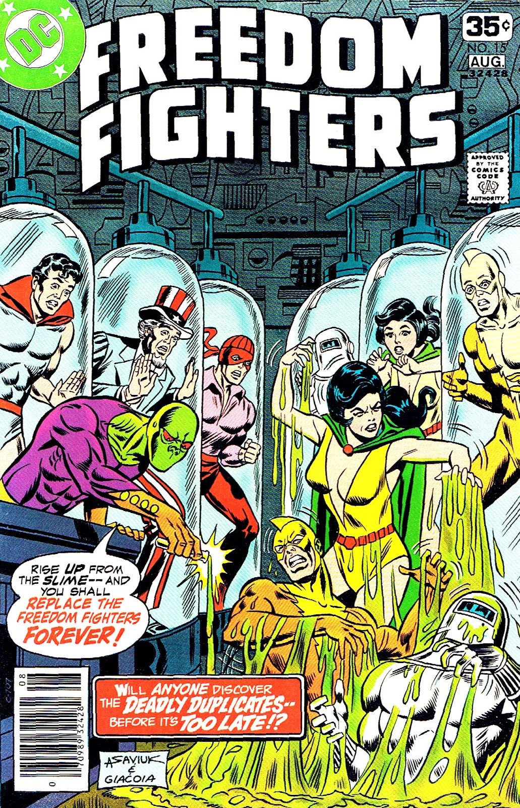 Freedom Fighters (1976) issue 15 - Page 1
