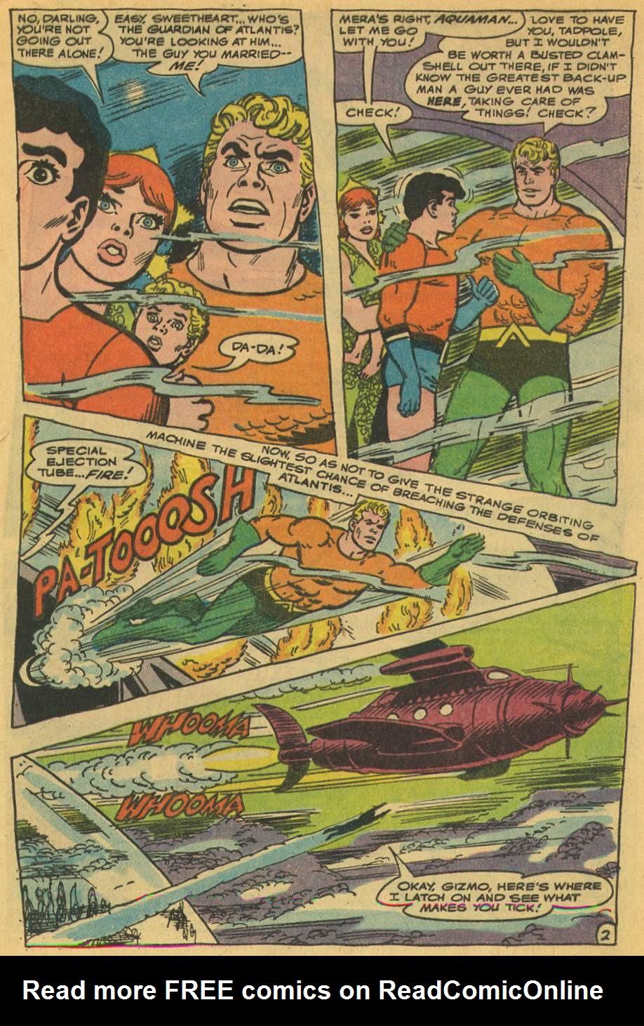 Read online Aquaman (1962) comic -  Issue #35 - 5