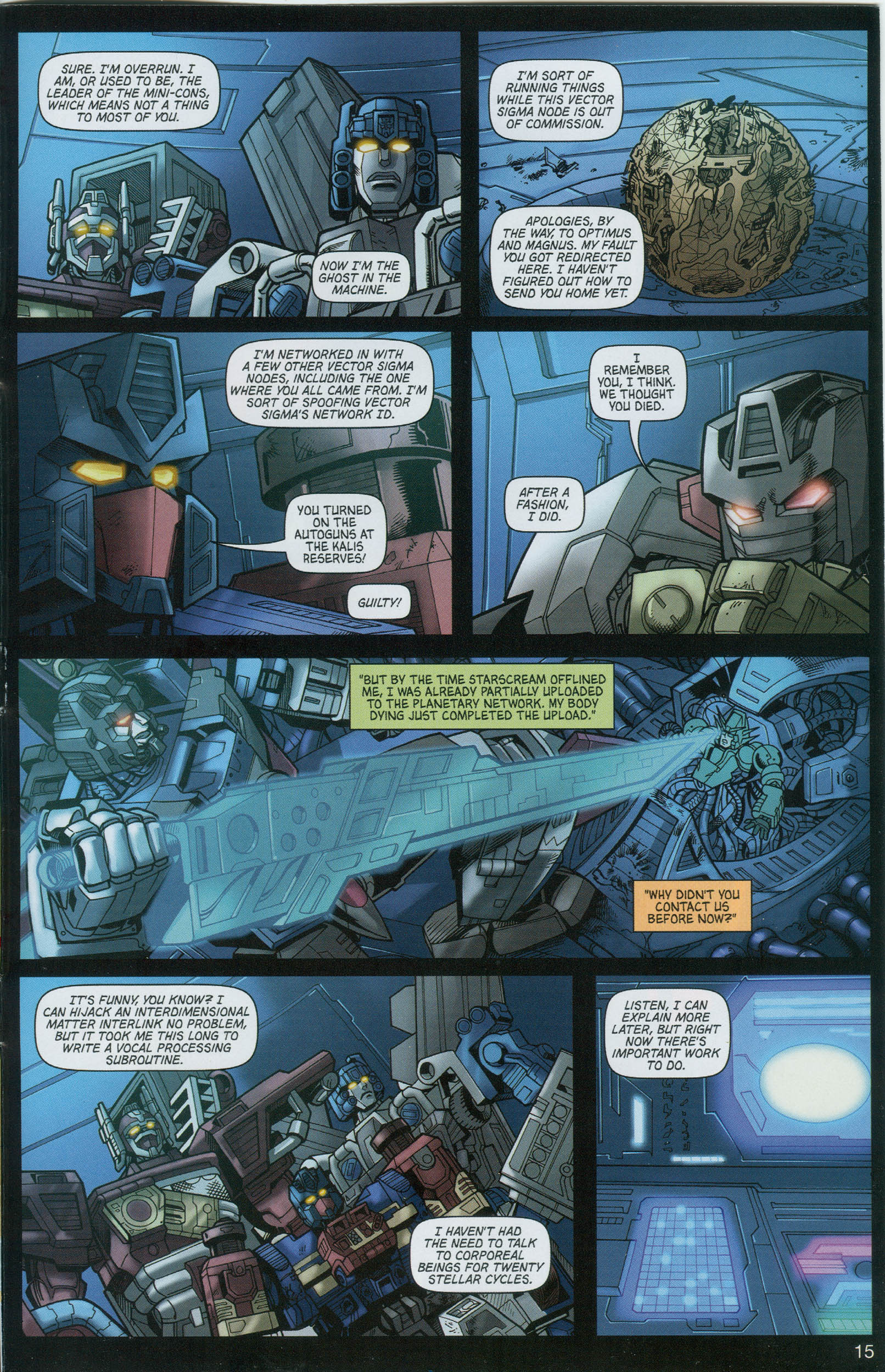 Read online Transformers: Collectors' Club comic -  Issue #8 - 15