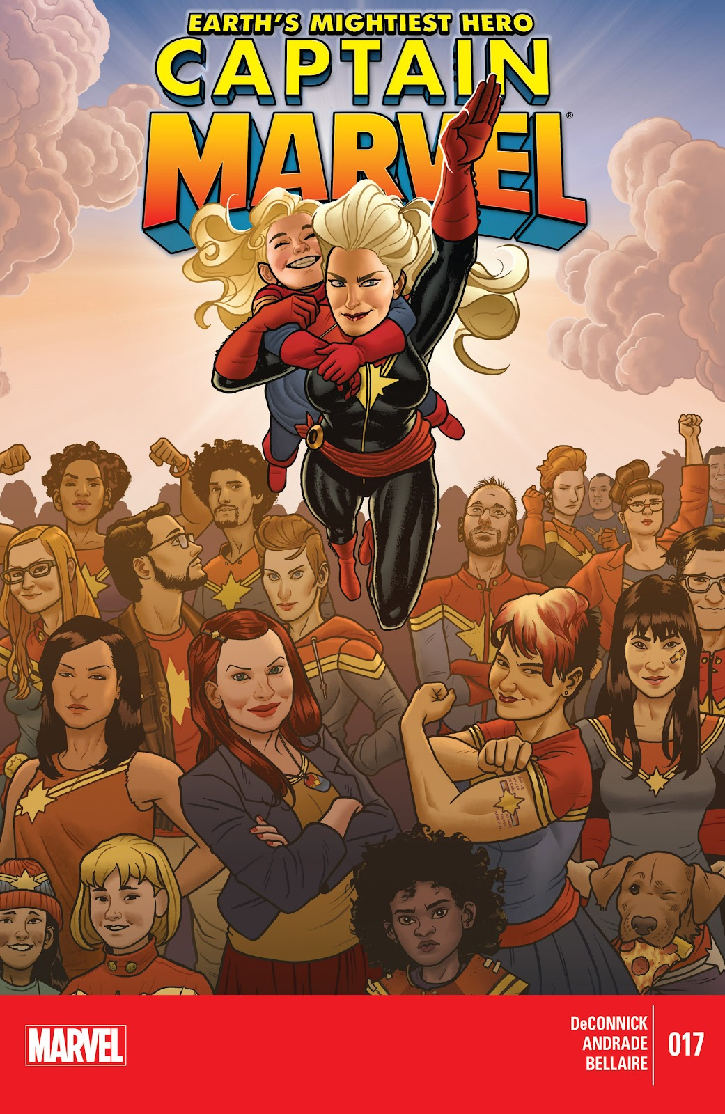 Captain Marvel (2012) issue 17 - Page 1