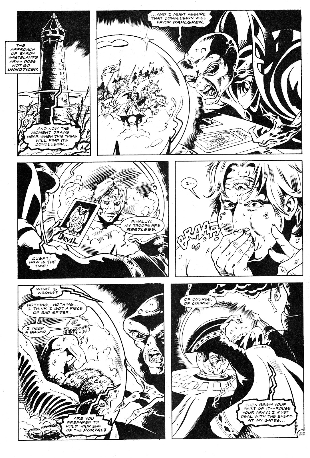 Ex-Mutants: The Shattered Earth Chronicles issue 9 - Page 24