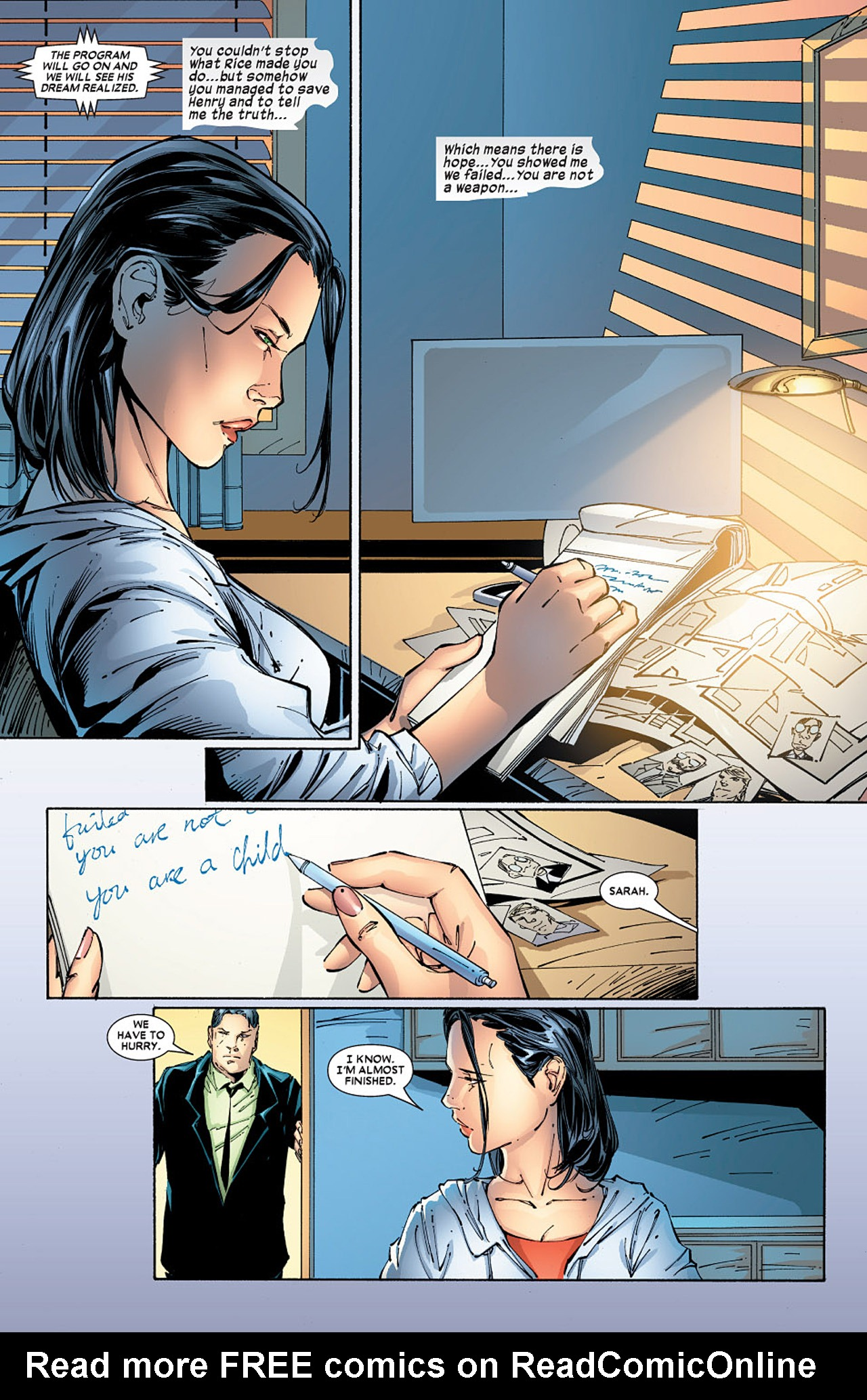 Read online X-23 (2005) comic -  Issue #5 - 18