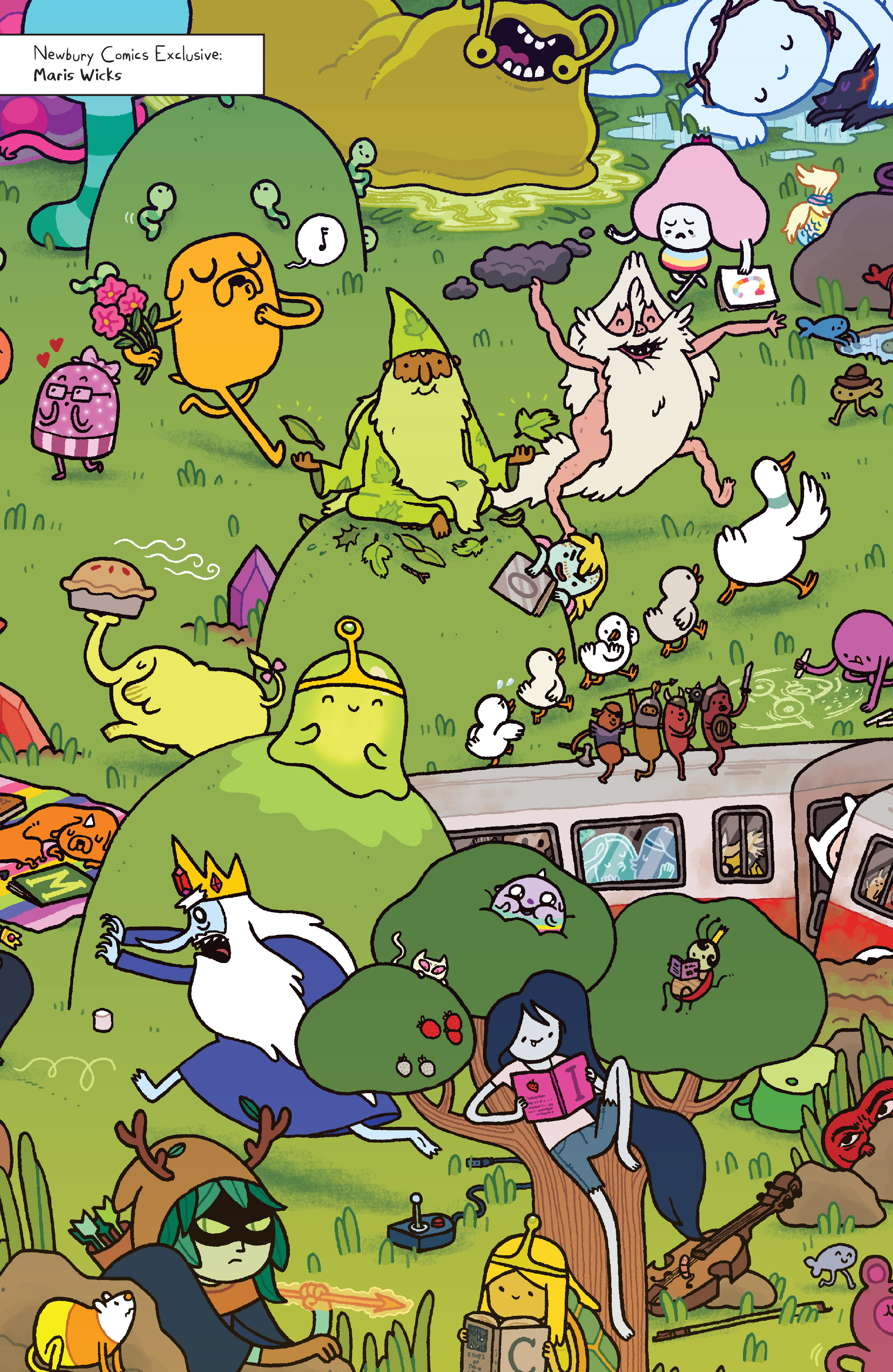 Read online Adventure Time comic -  Issue #Adventure Time _TPB 4 - 123