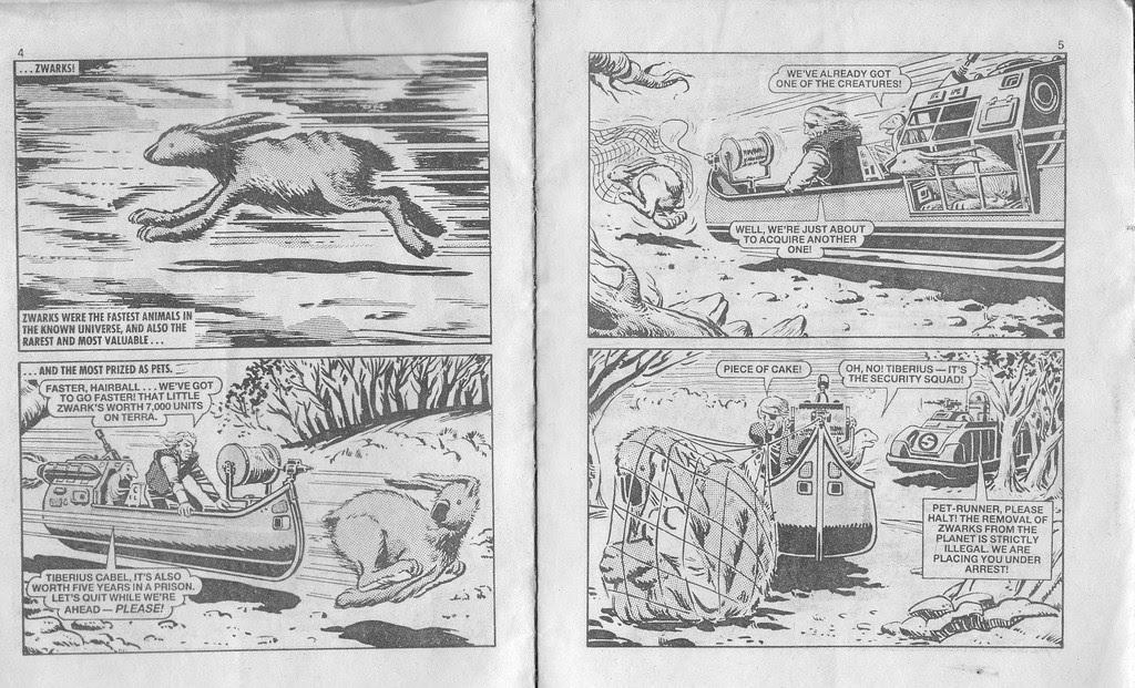 Starblazer issue 194 - Page 3