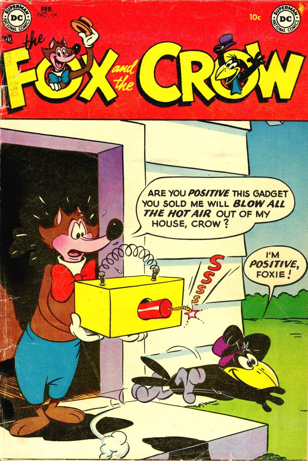 The Fox and the Crow issue 14 - Page 1