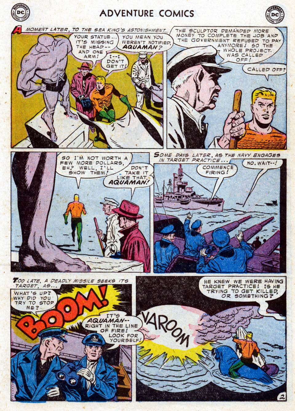 Read online Adventure Comics (1938) comic -  Issue #211 - 19