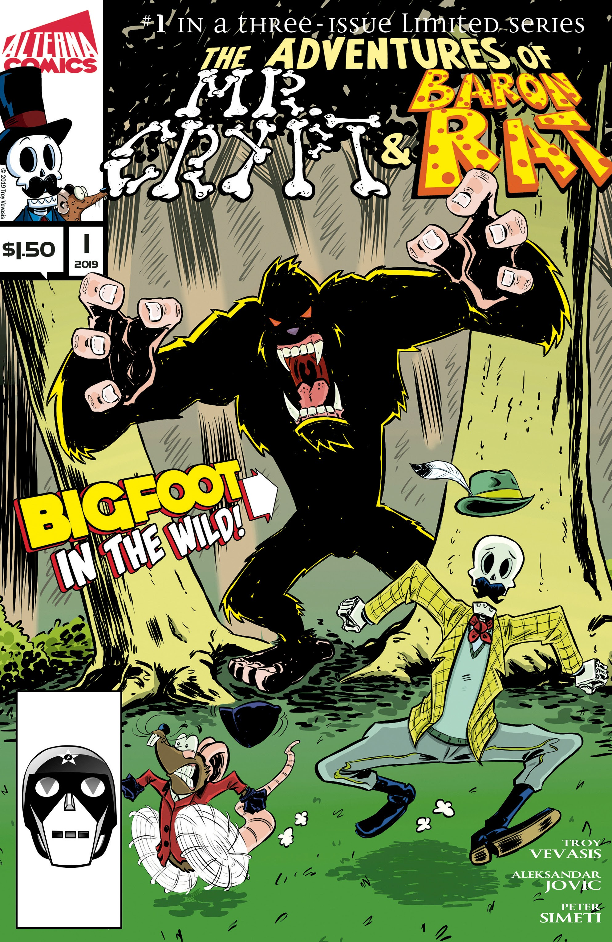 Read online The Adventures of Mr. Crypt and Baron Rat comic -  Issue #1 - 1