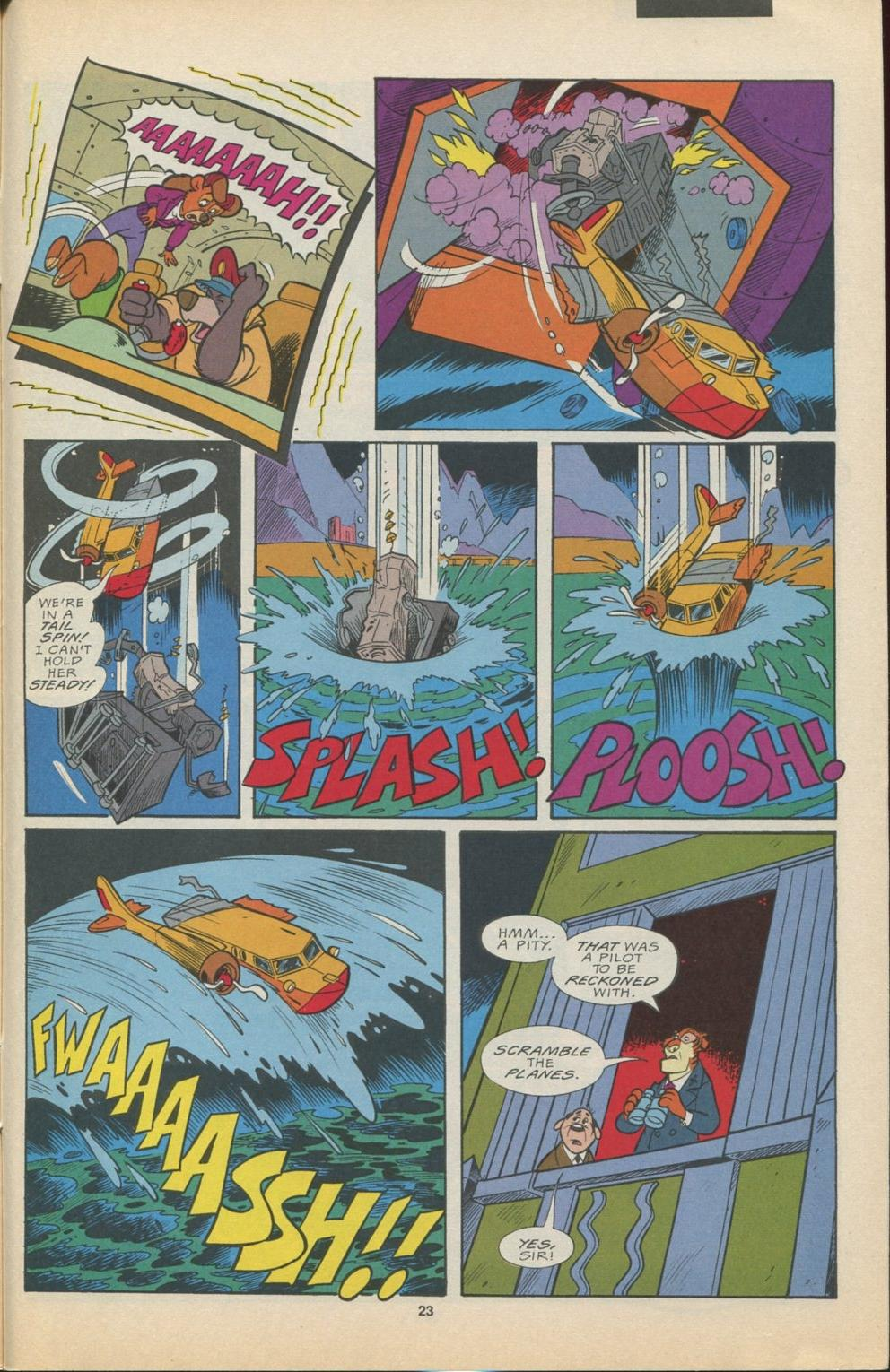 Read online Disney's Tale Spin Limited Series: ''Take Off'' comic -  Issue #4 - 24