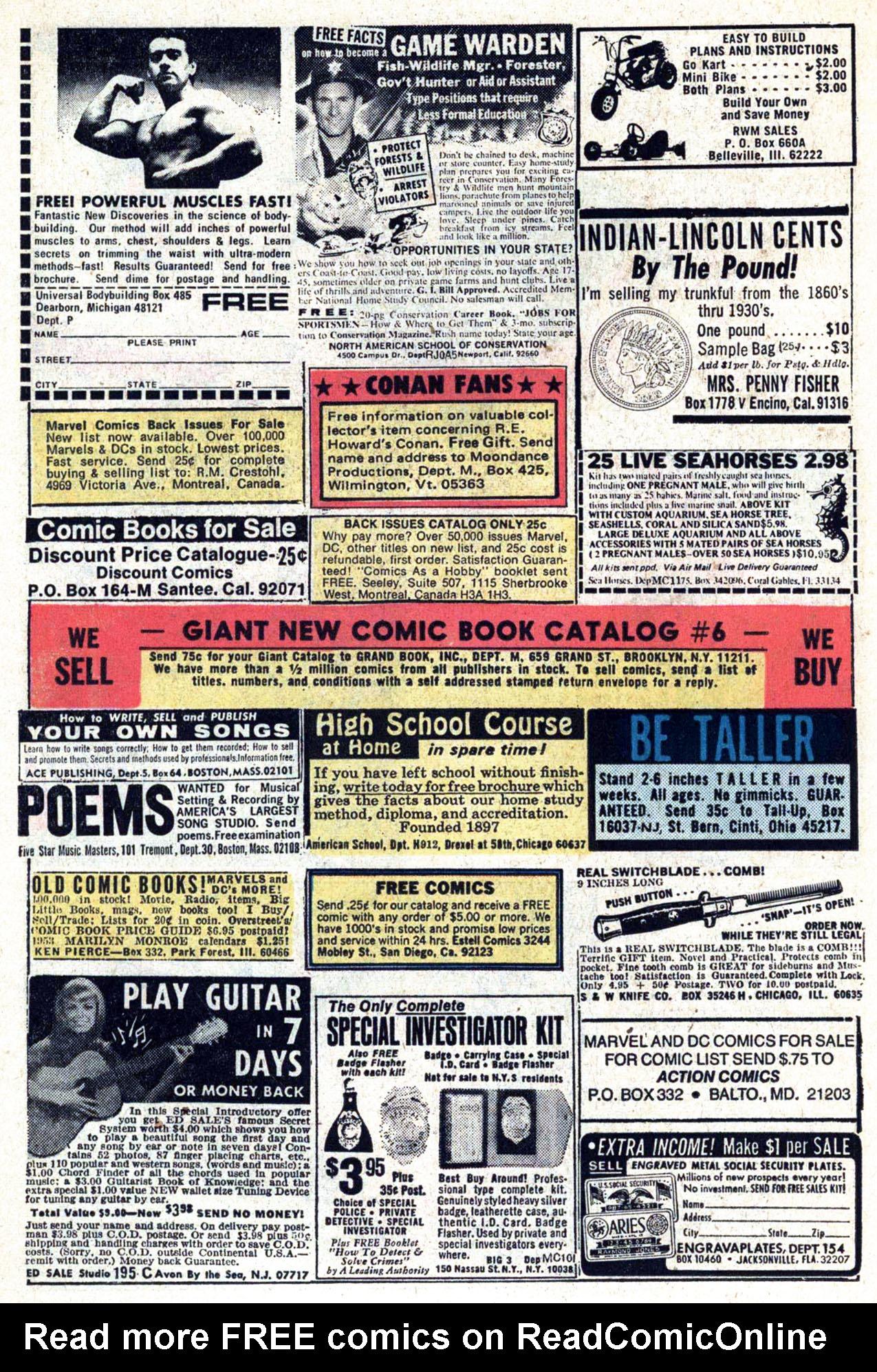 Read online Amazing Adventures (1970) comic -  Issue #34 - 14