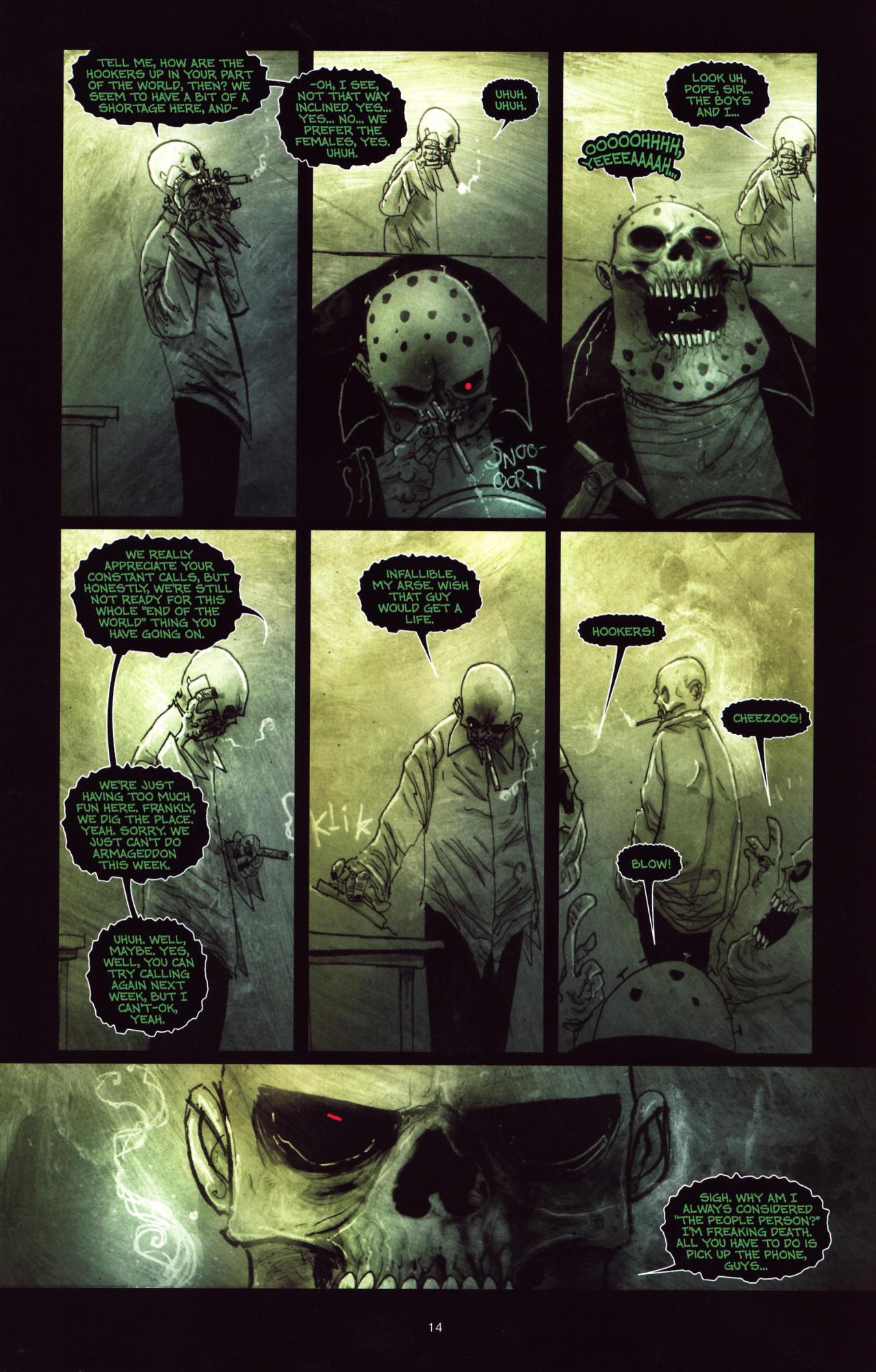 Read online Wormwood: Gentleman Corpse comic -  Issue #8 - 15