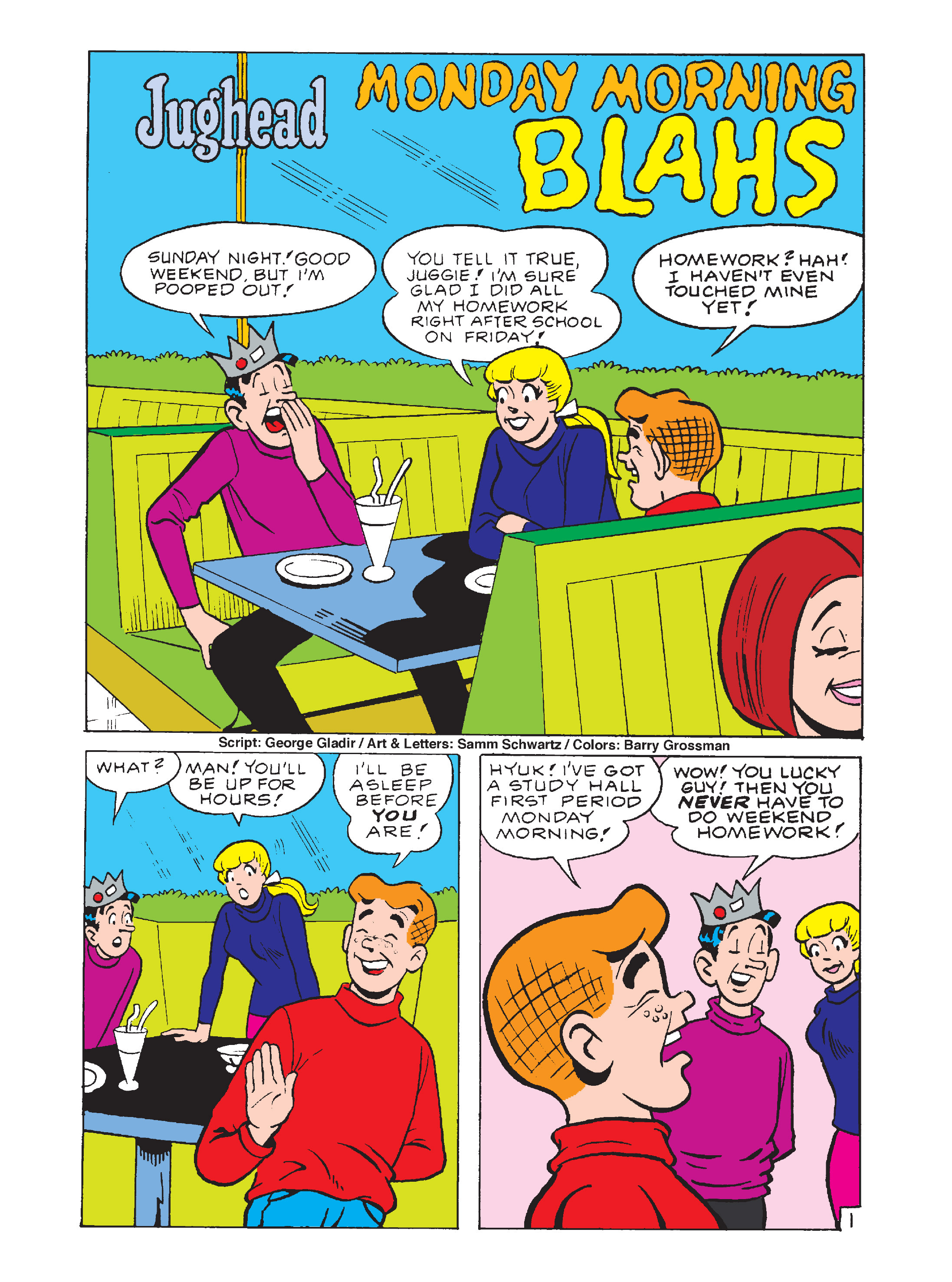 Read online Archie 1000 Page Comics Bonanza comic -  Issue #1 (Part 1) - 25