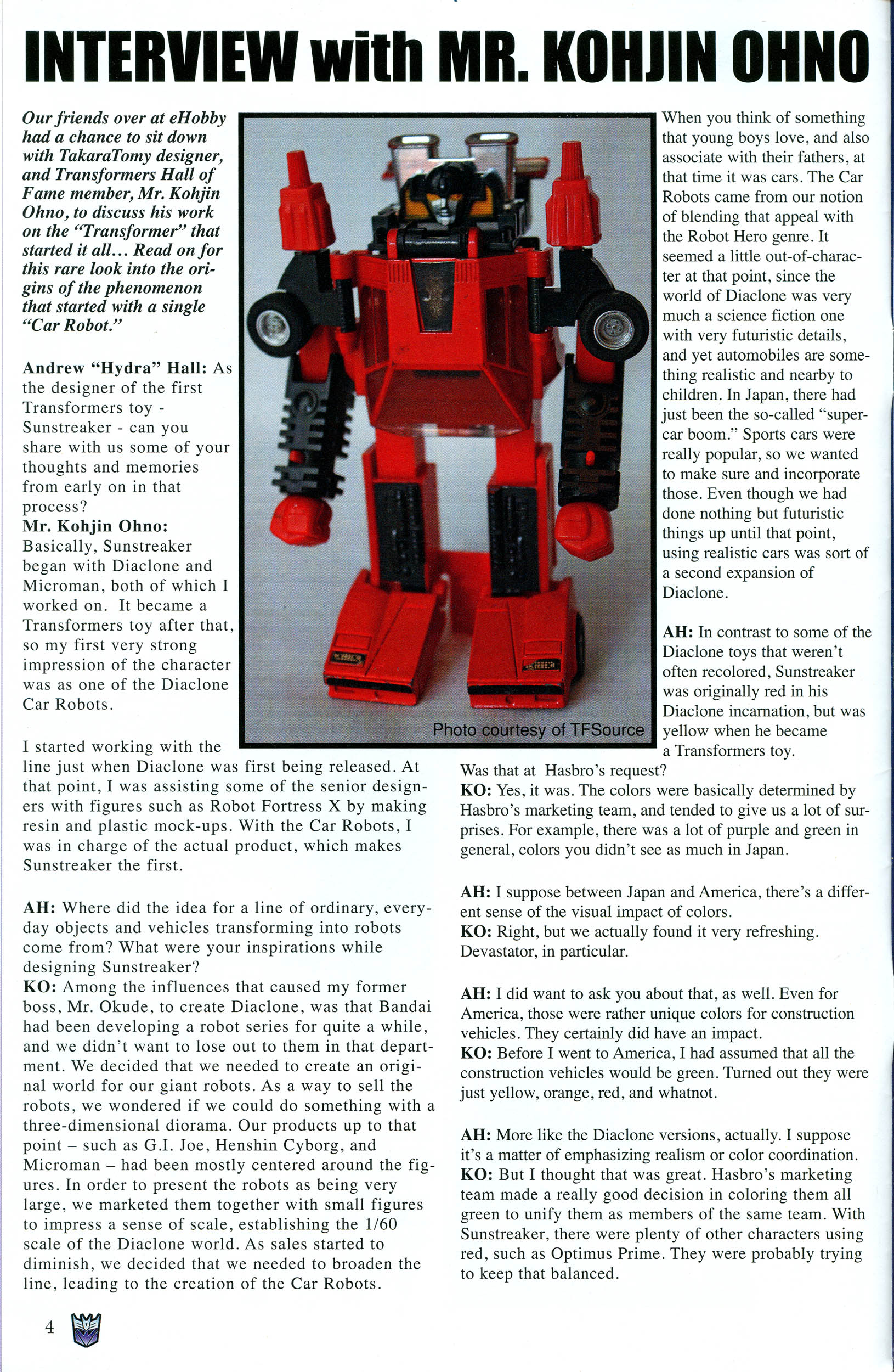 Read online Transformers: Collectors' Club comic -  Issue #46 - 4