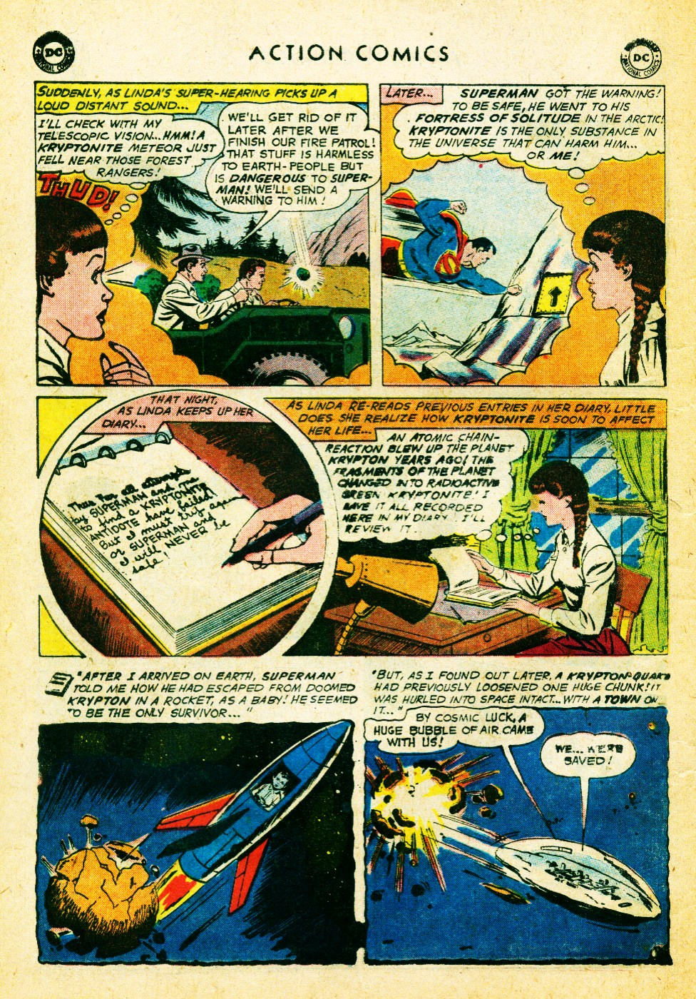 Read online Action Comics (1938) comic -  Issue #262 - 22