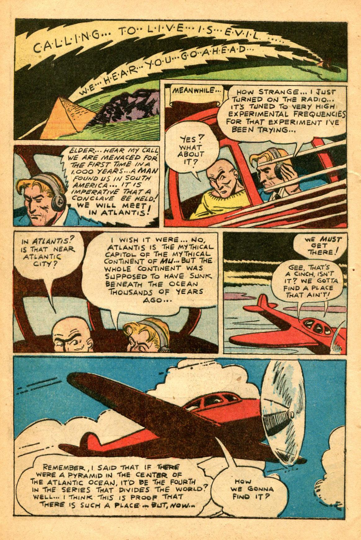 Read online Shadow Comics comic -  Issue #60 - 40