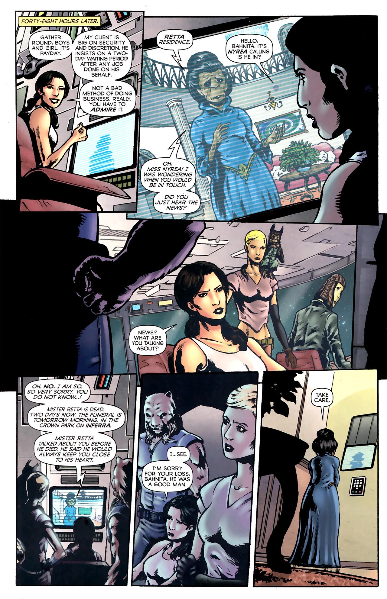 Read online Stargate Vala Mal Doran comic -  Issue #2 - 14