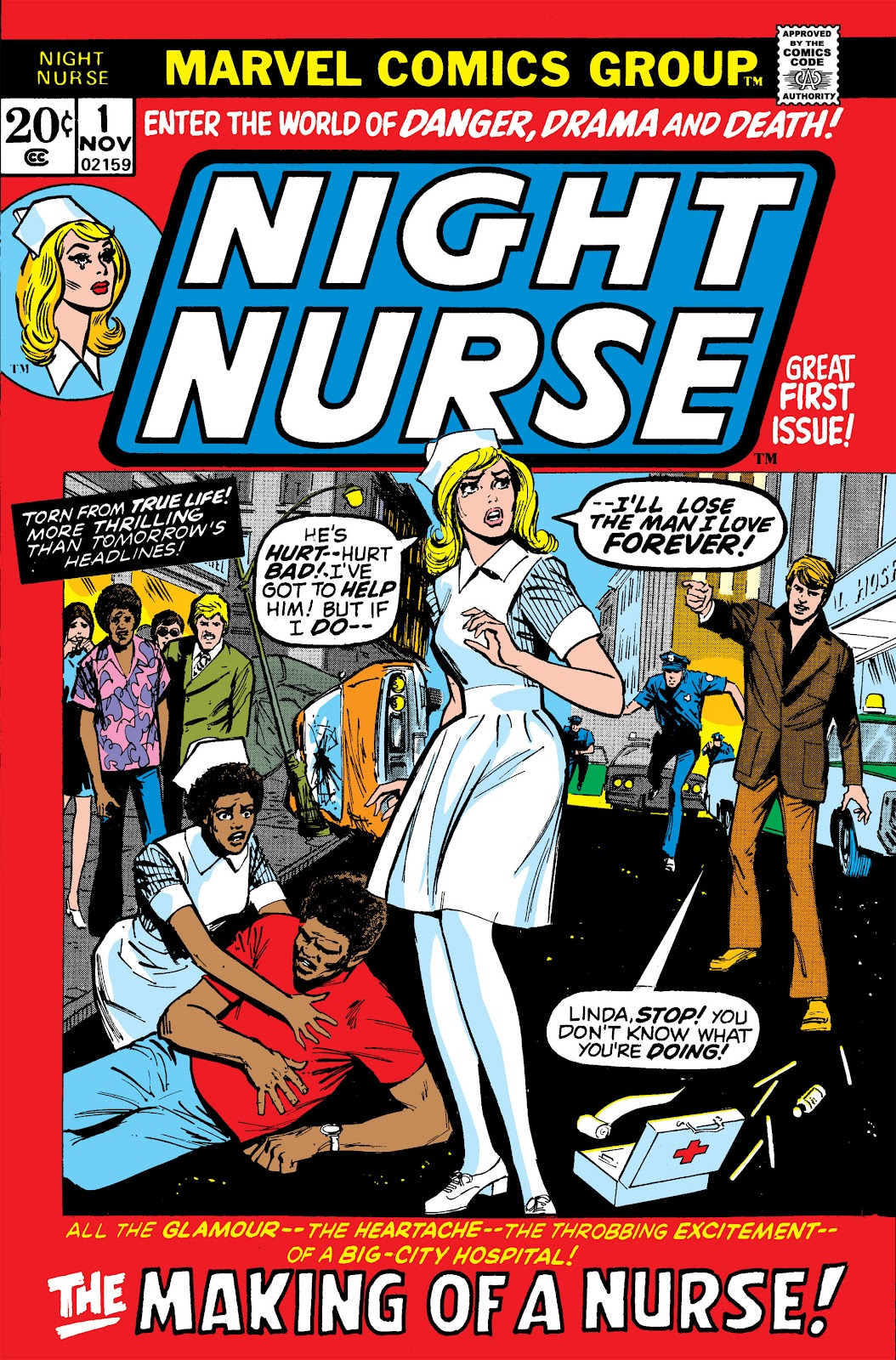 Night Nurse (1972) issue 1 - Page 1