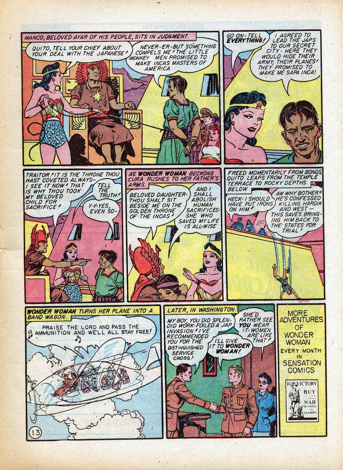 Read online Sensation (Mystery) Comics comic -  Issue #18 - 15