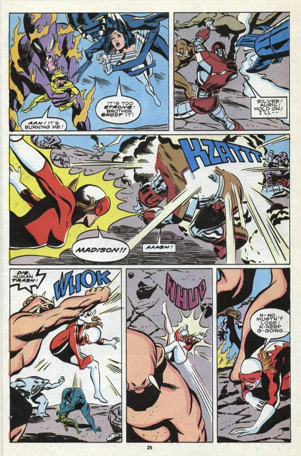 Read online Alpha Flight (1983) comic -  Issue #85 - 21