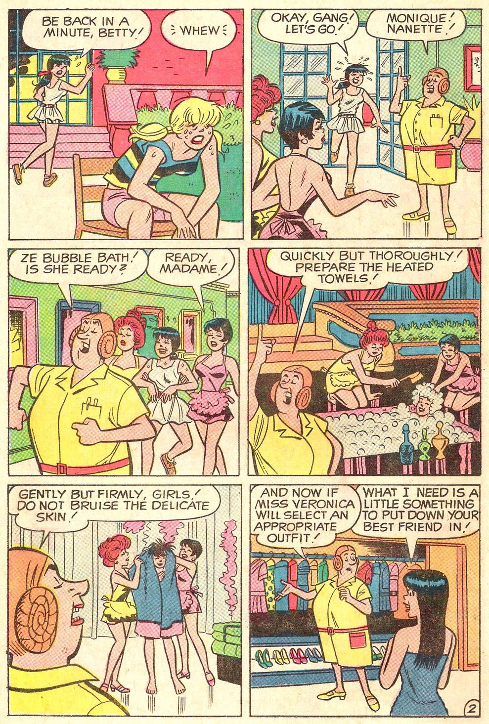 Read online Archie's Girls Betty and Veronica comic -  Issue #178 - 14