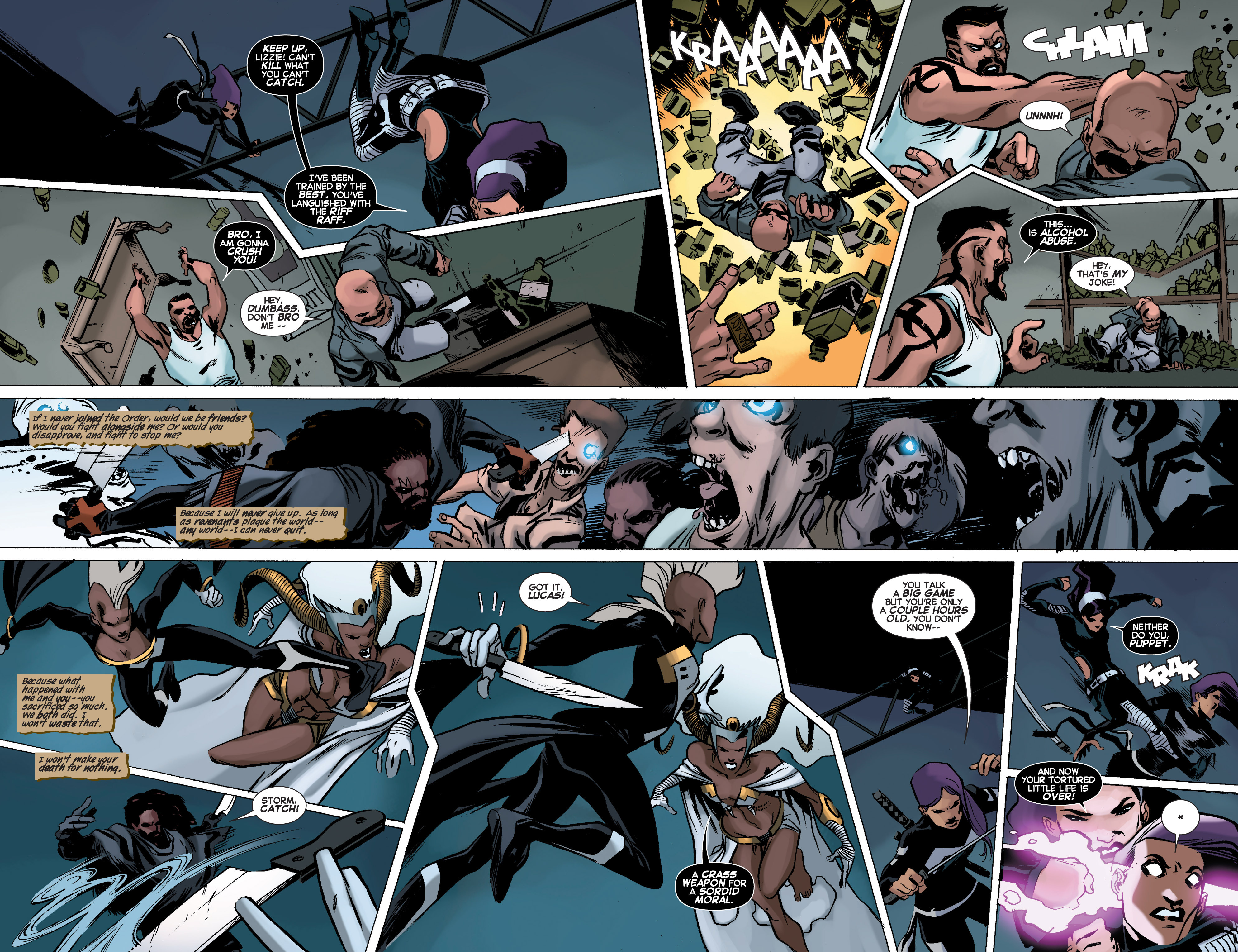 Read online Uncanny X-Force (2013) comic -  Issue #11 - 13