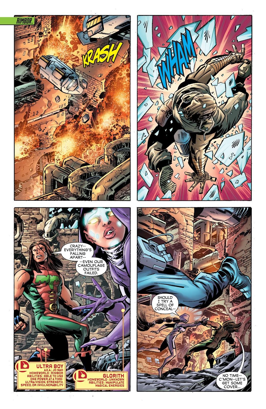 Legion of Super-Heroes (2011) Issue #17 #18 - English 7