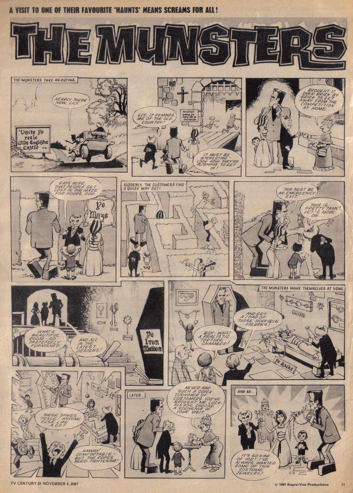 Read online TV Century 21 (TV 21) comic -  Issue #146 - 11